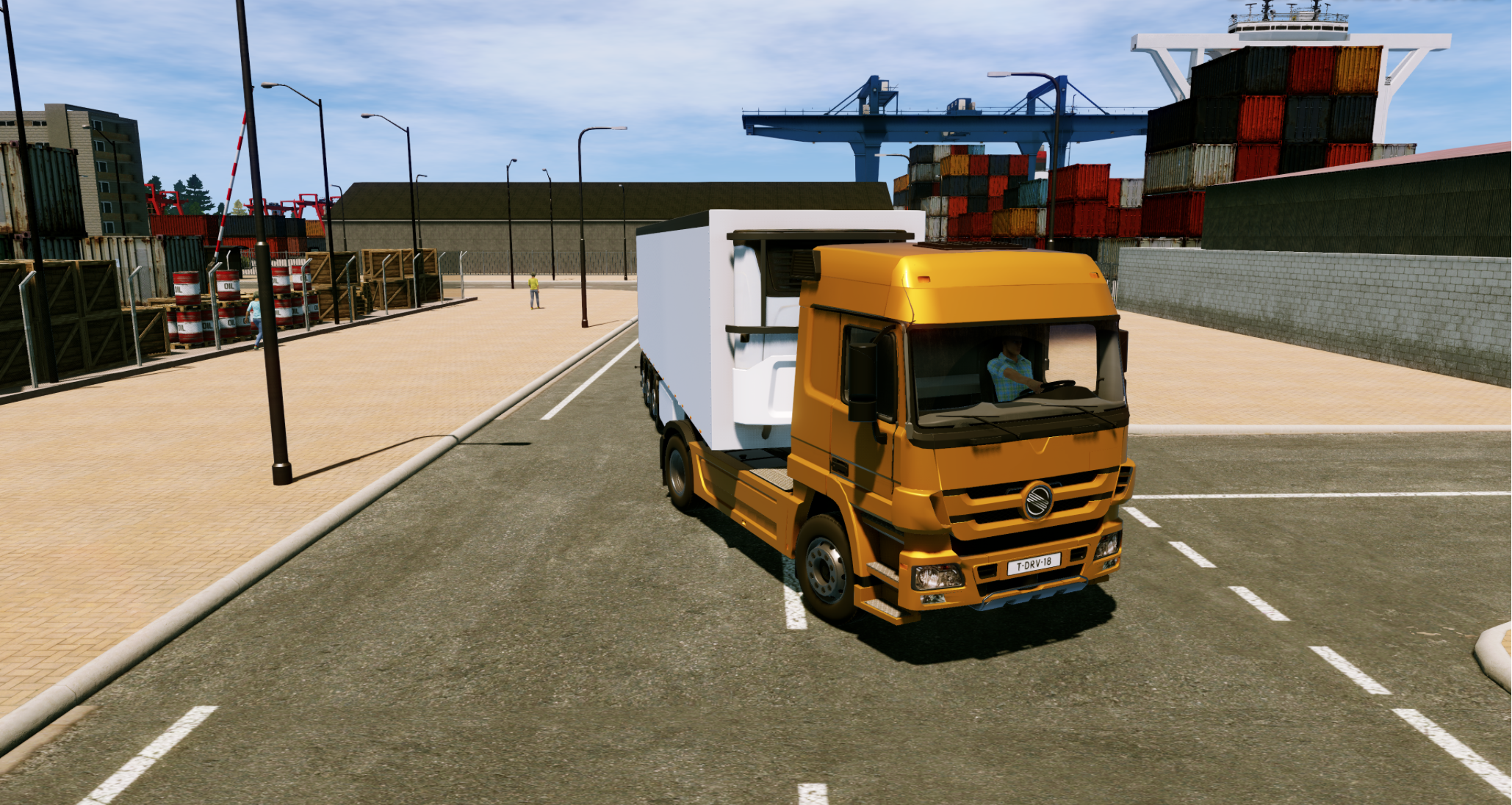 Truck Driver coming to PS4, Xbox One and PC