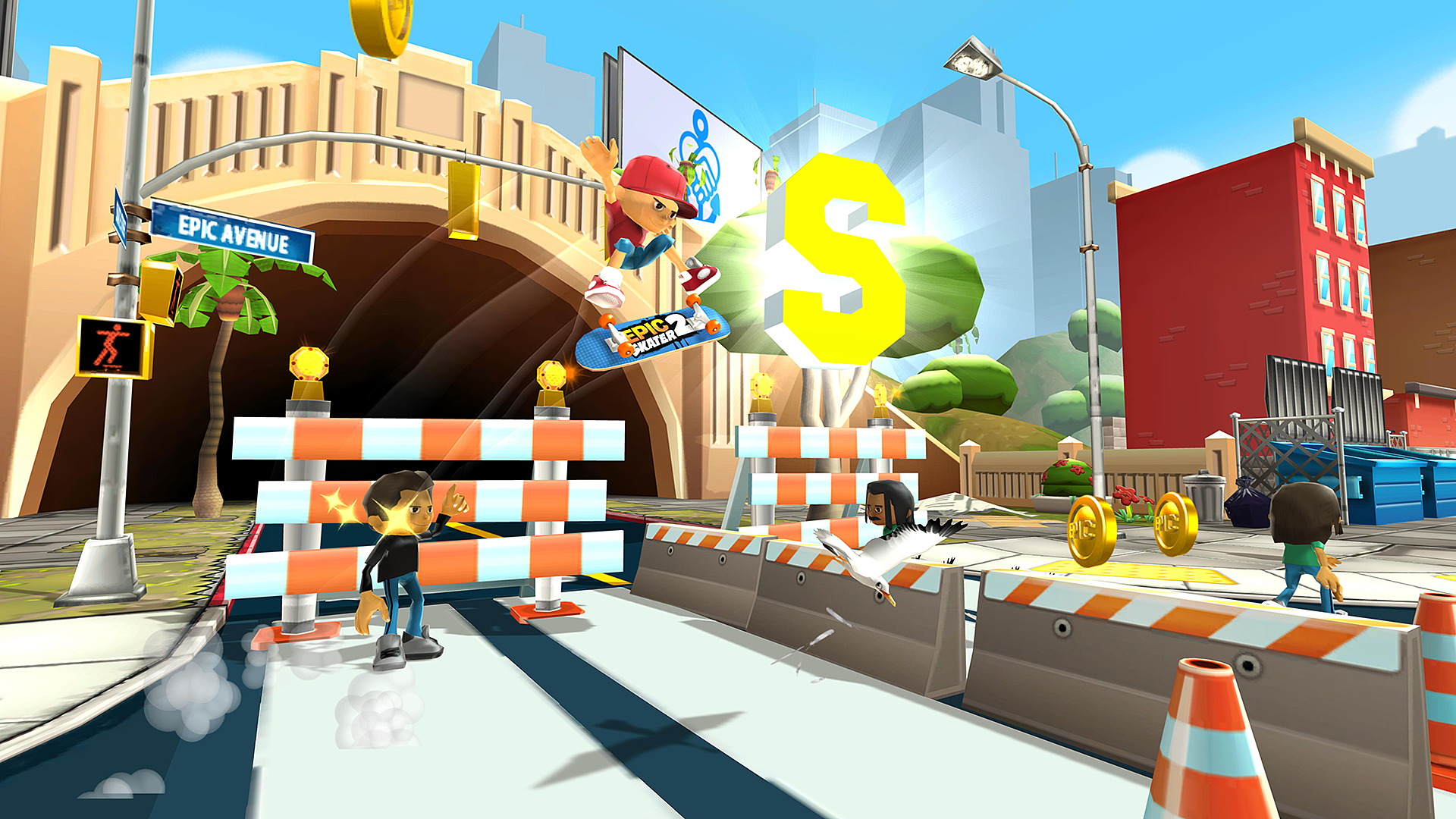 Epic Skater 2 rides to Early Access