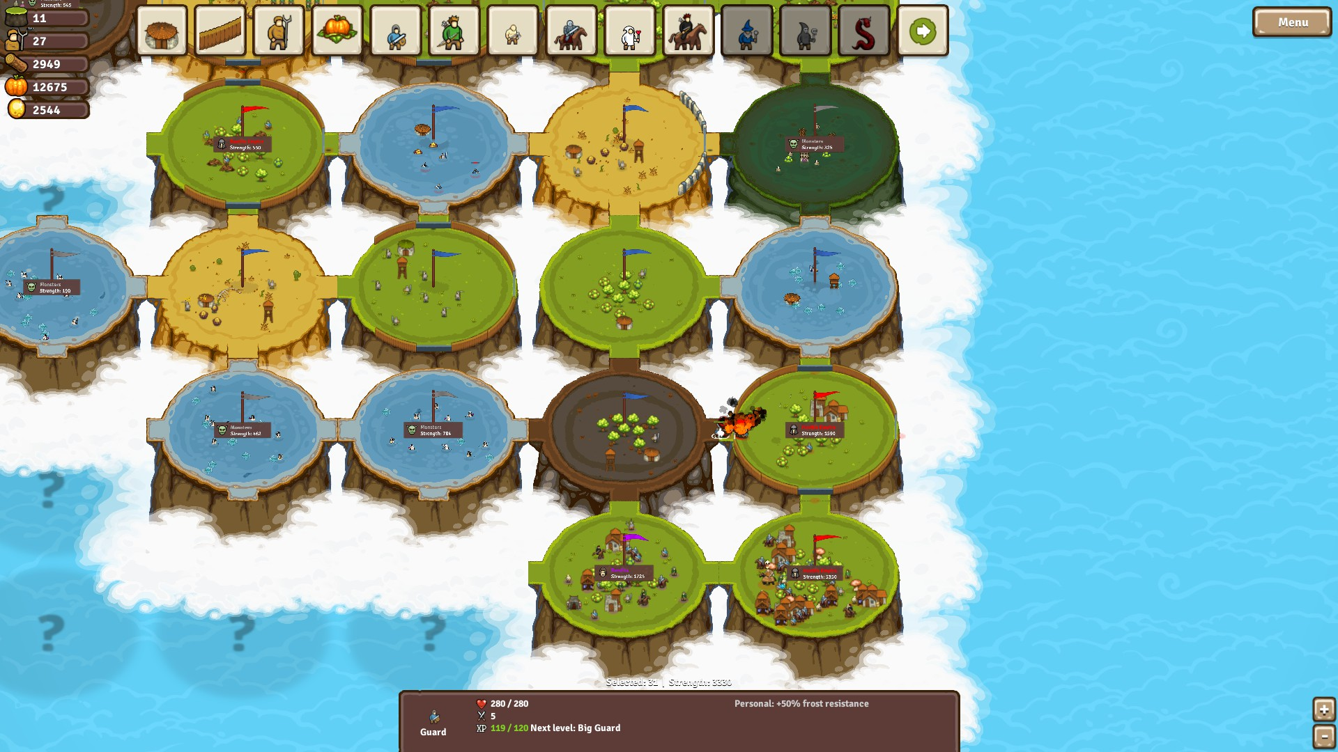 Circle Empires out now on Steam
