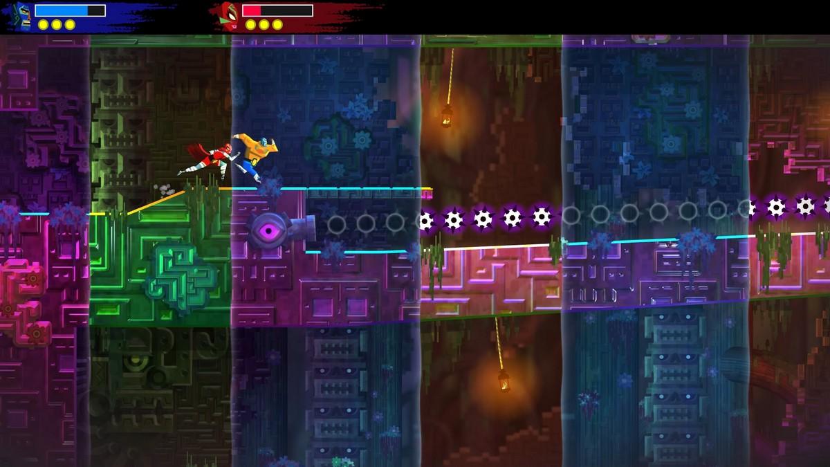 Guacamelee 2 gameplay screenshot