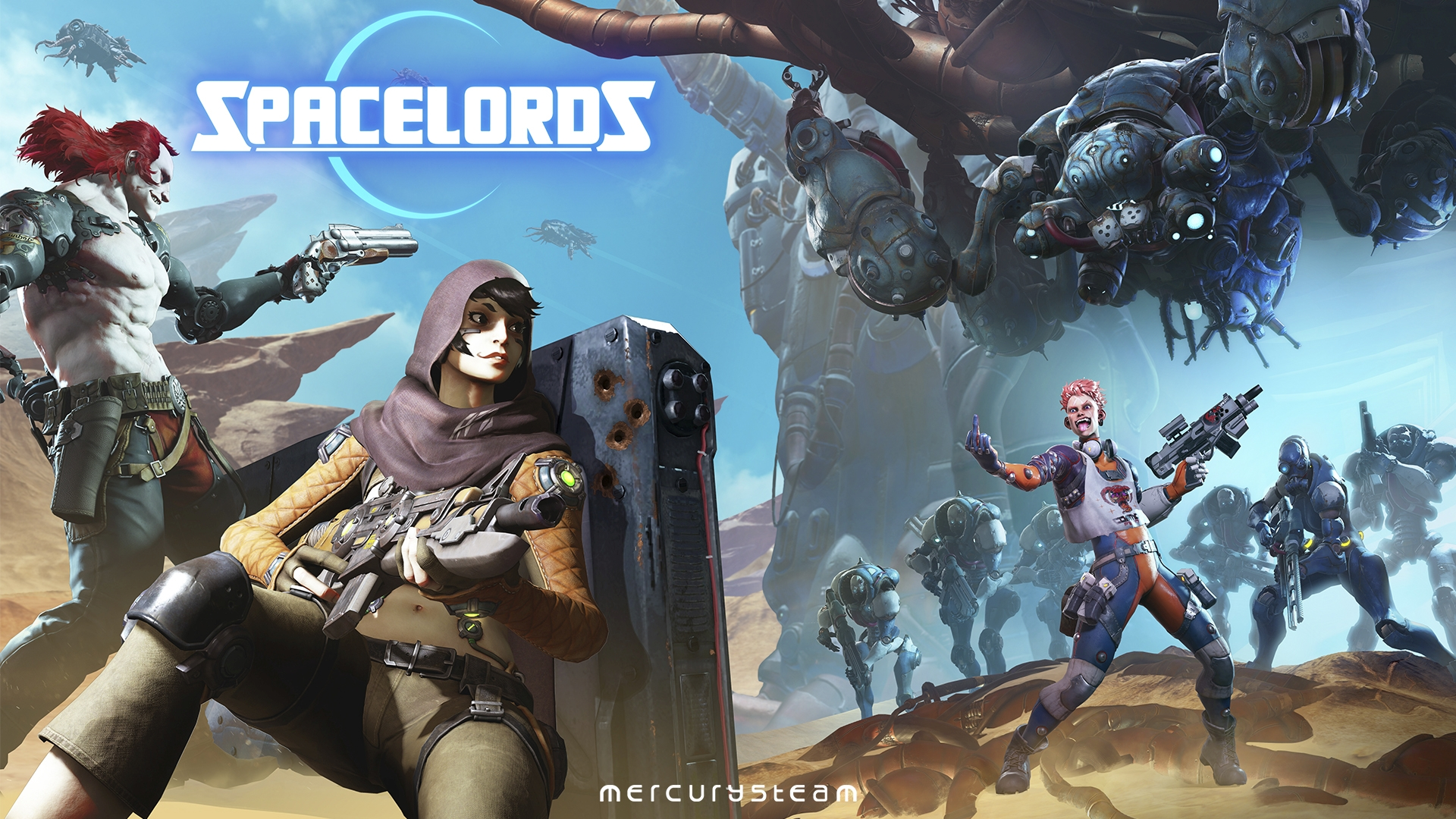 Spacelords shoots its way to release today