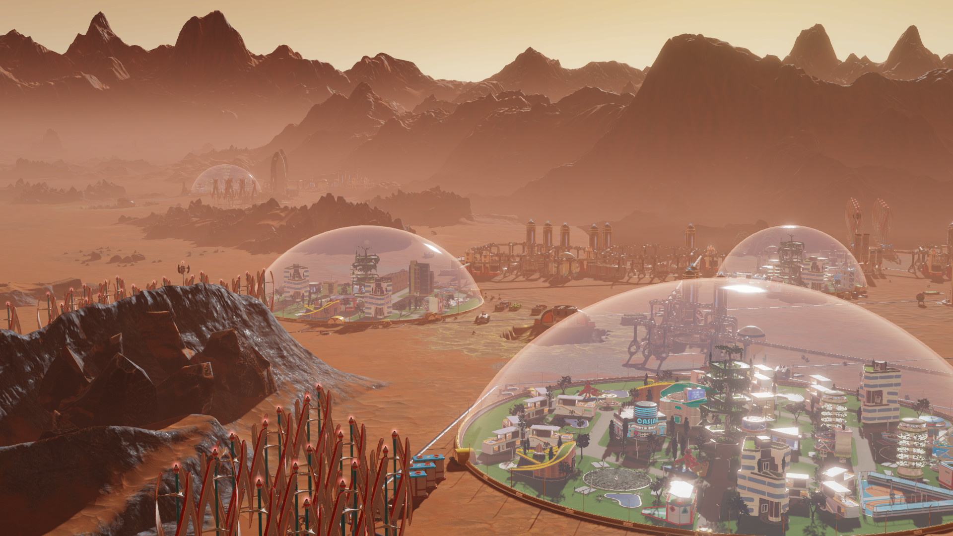 Two free new updates announced for Surviving Mars