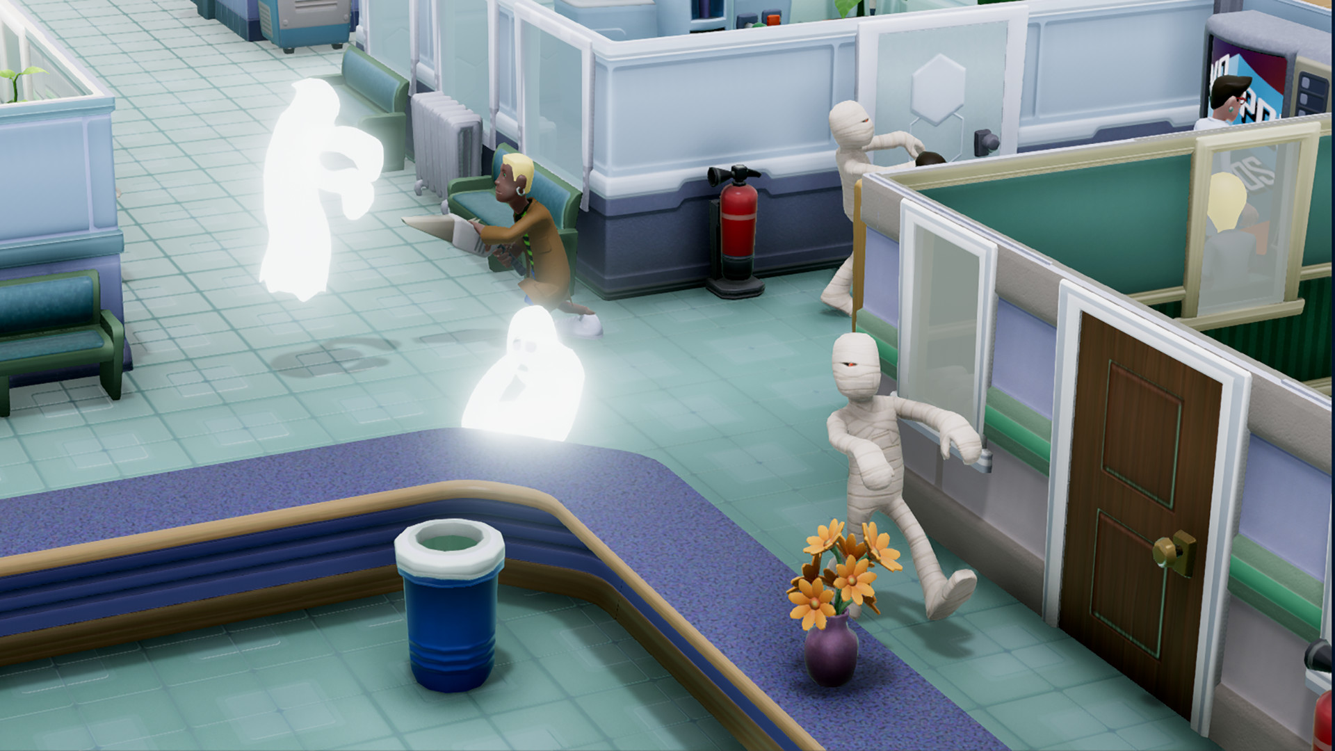 Two Point Hospital opens its doors today