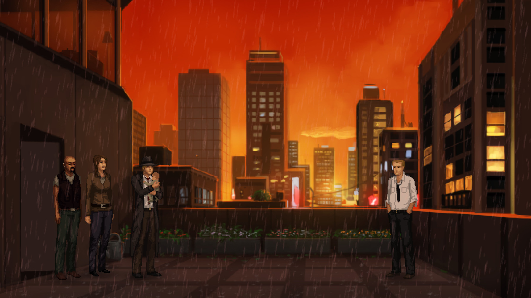Supernatural point and click adventure Unavowed out on PC