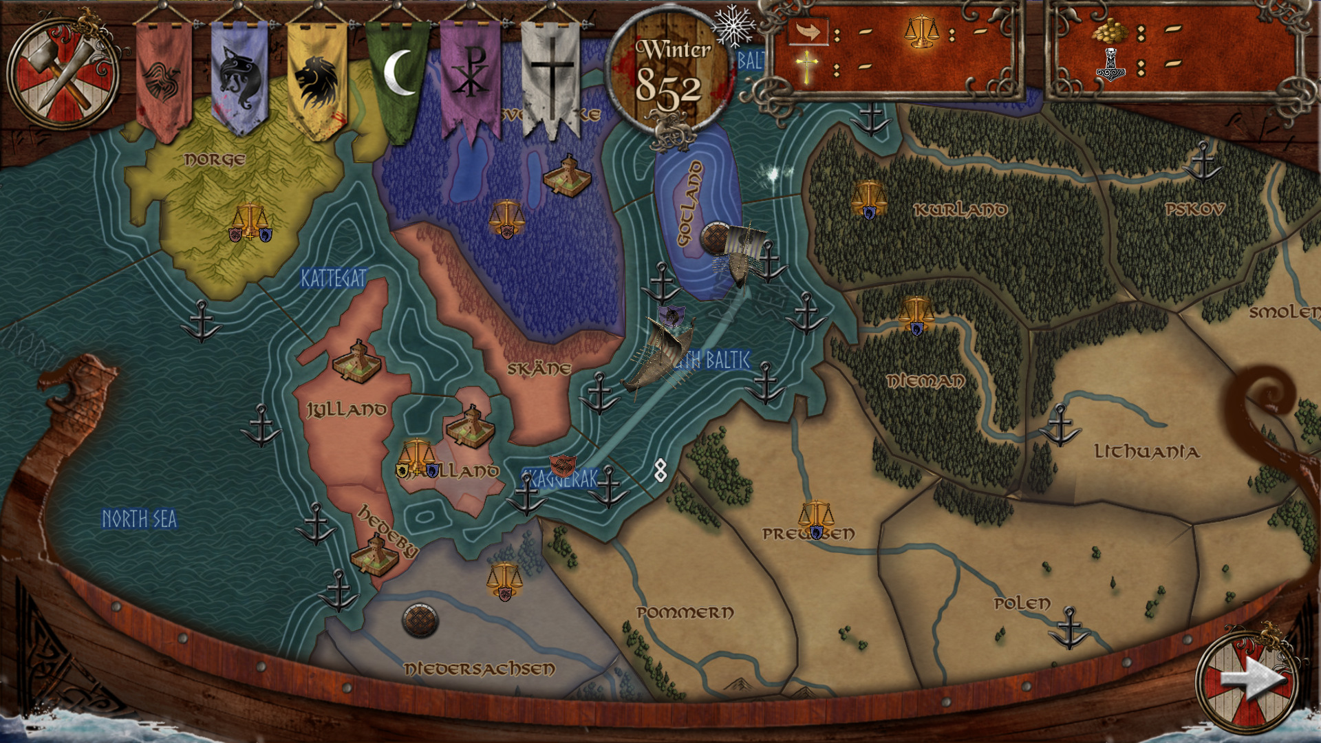 Age Of Viking Conquest sails onto Steam today