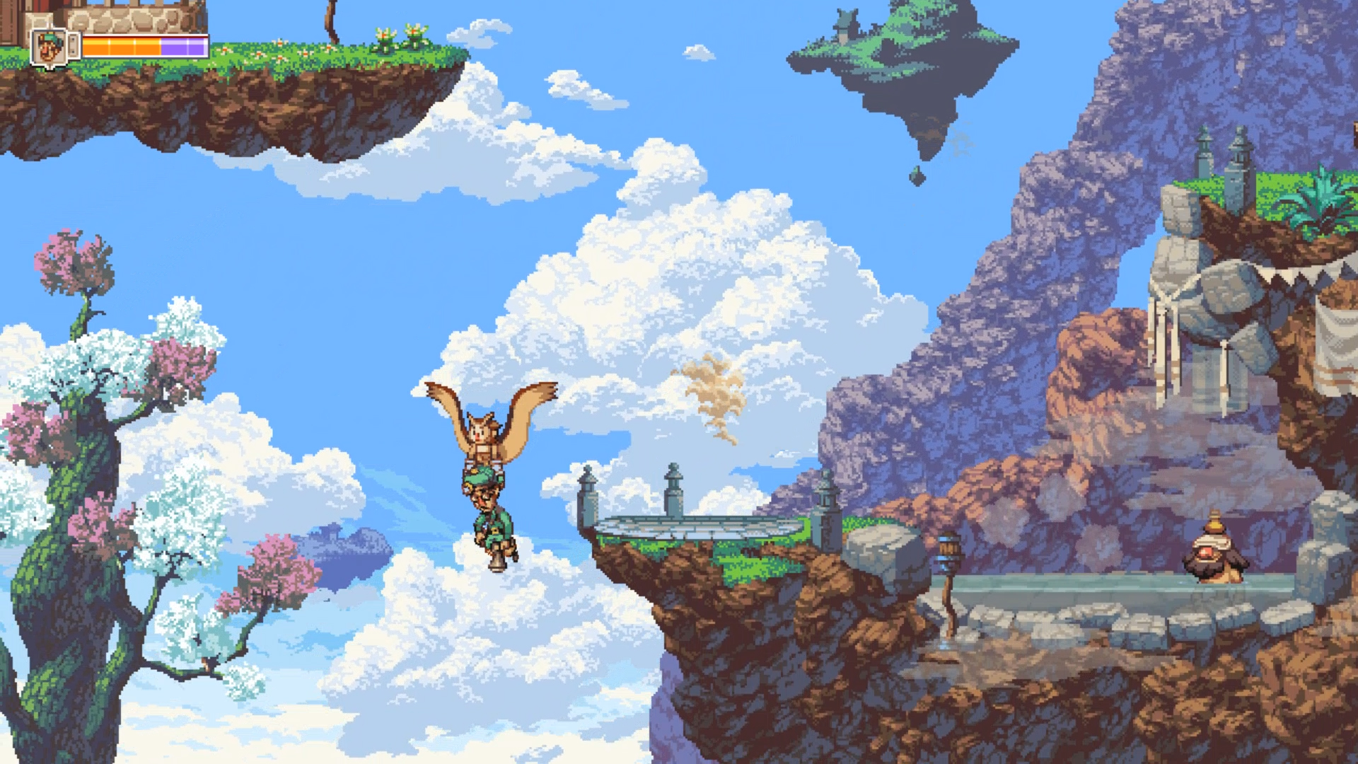 Owlboy gameplay