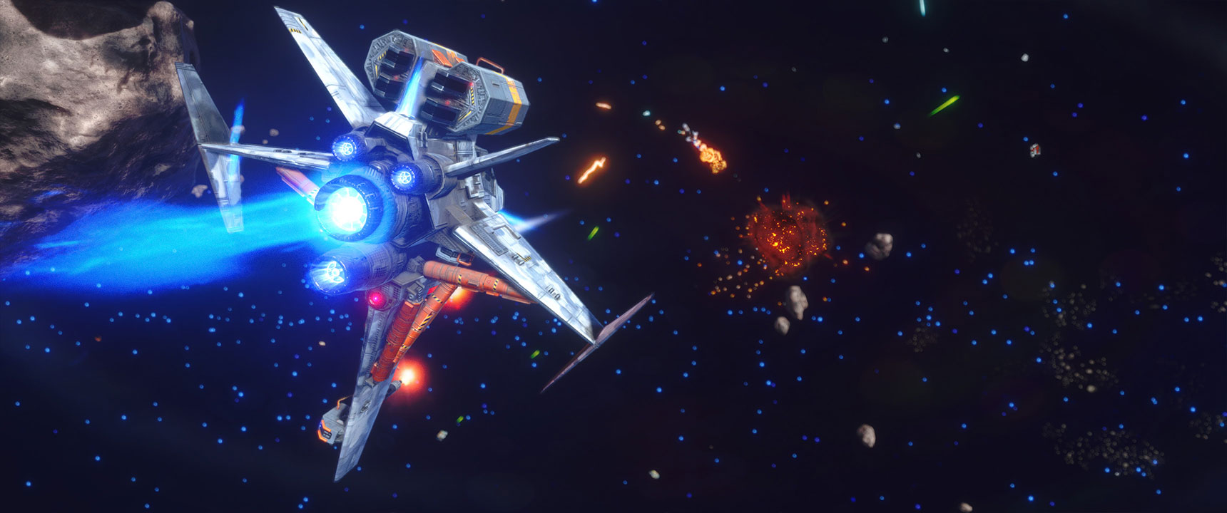 Rebel Galaxy Outlaw announced for PC and consoles
