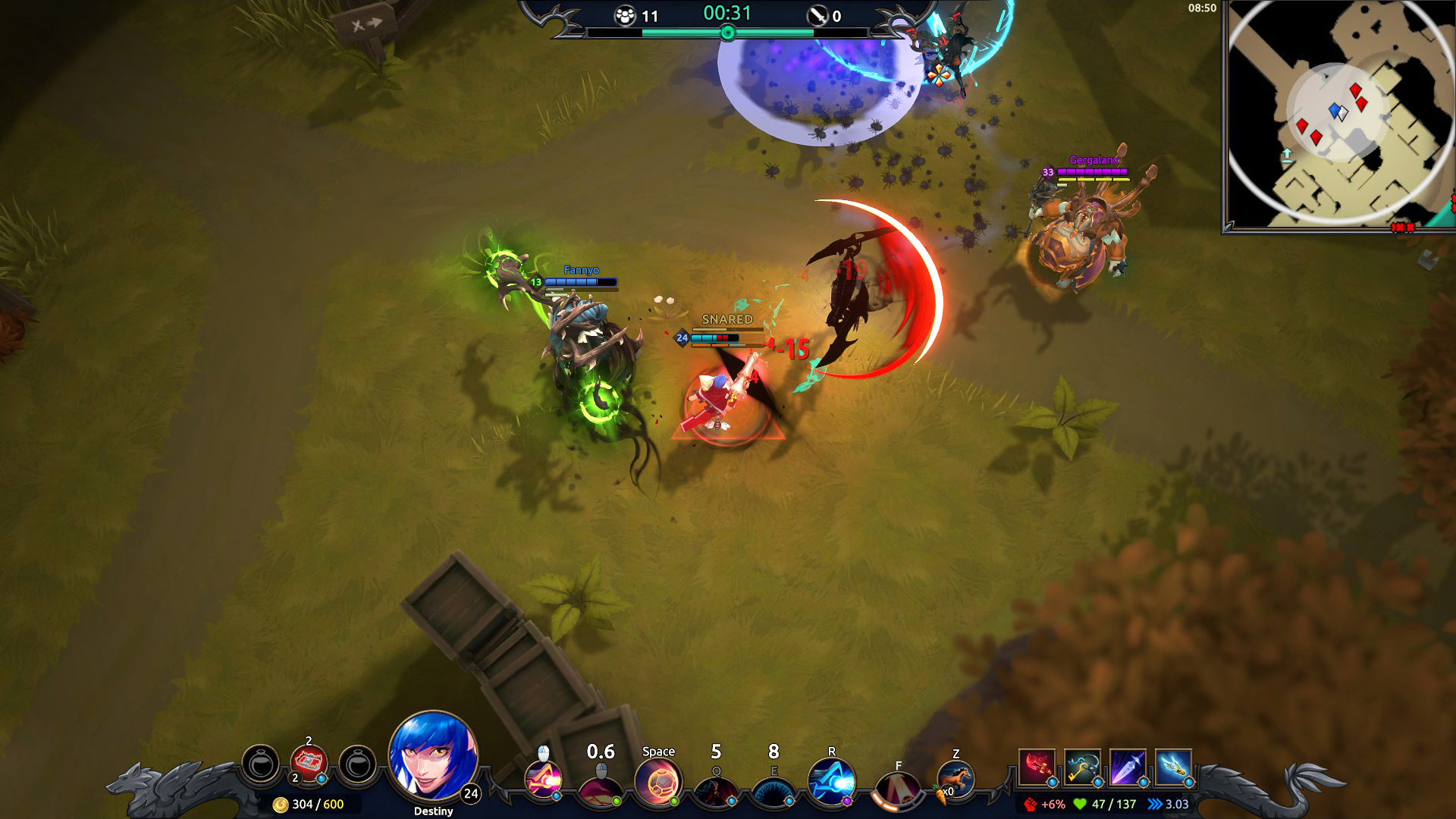 Free to play Battlerite gets a Battle Royale mode