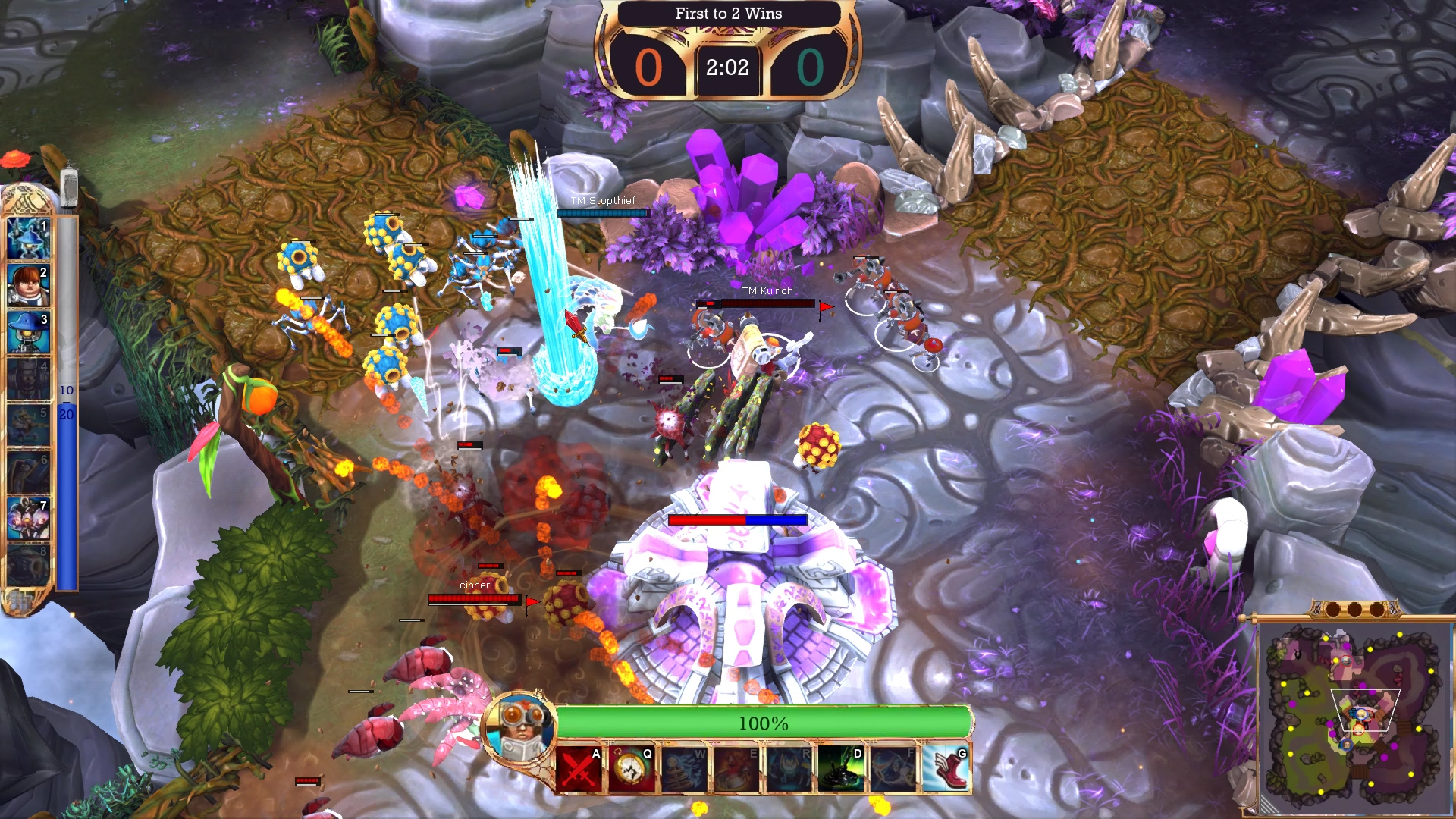 Team-based multiplayer RTS The Maestros gets a short open beta