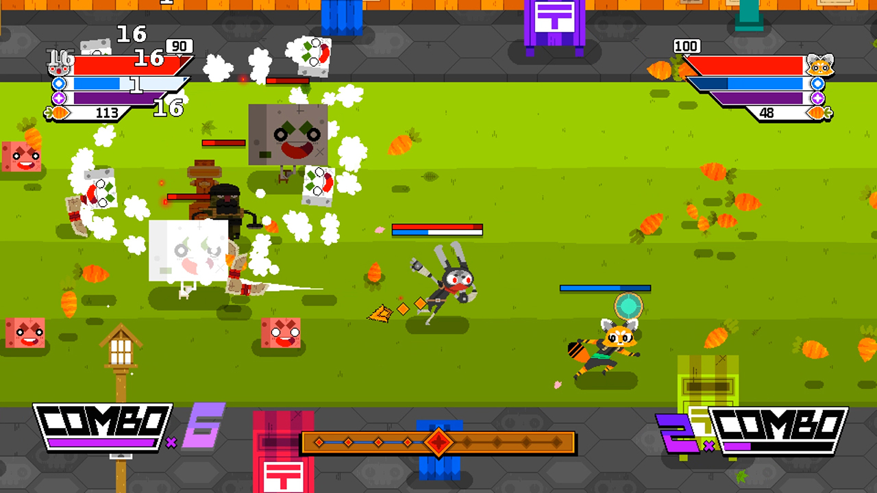 Fast-paced beat-em-up Ninjin: Clash of Carrots released