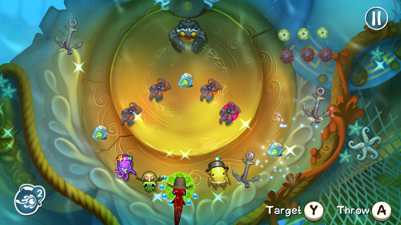 Squids Odyssey released on Steam