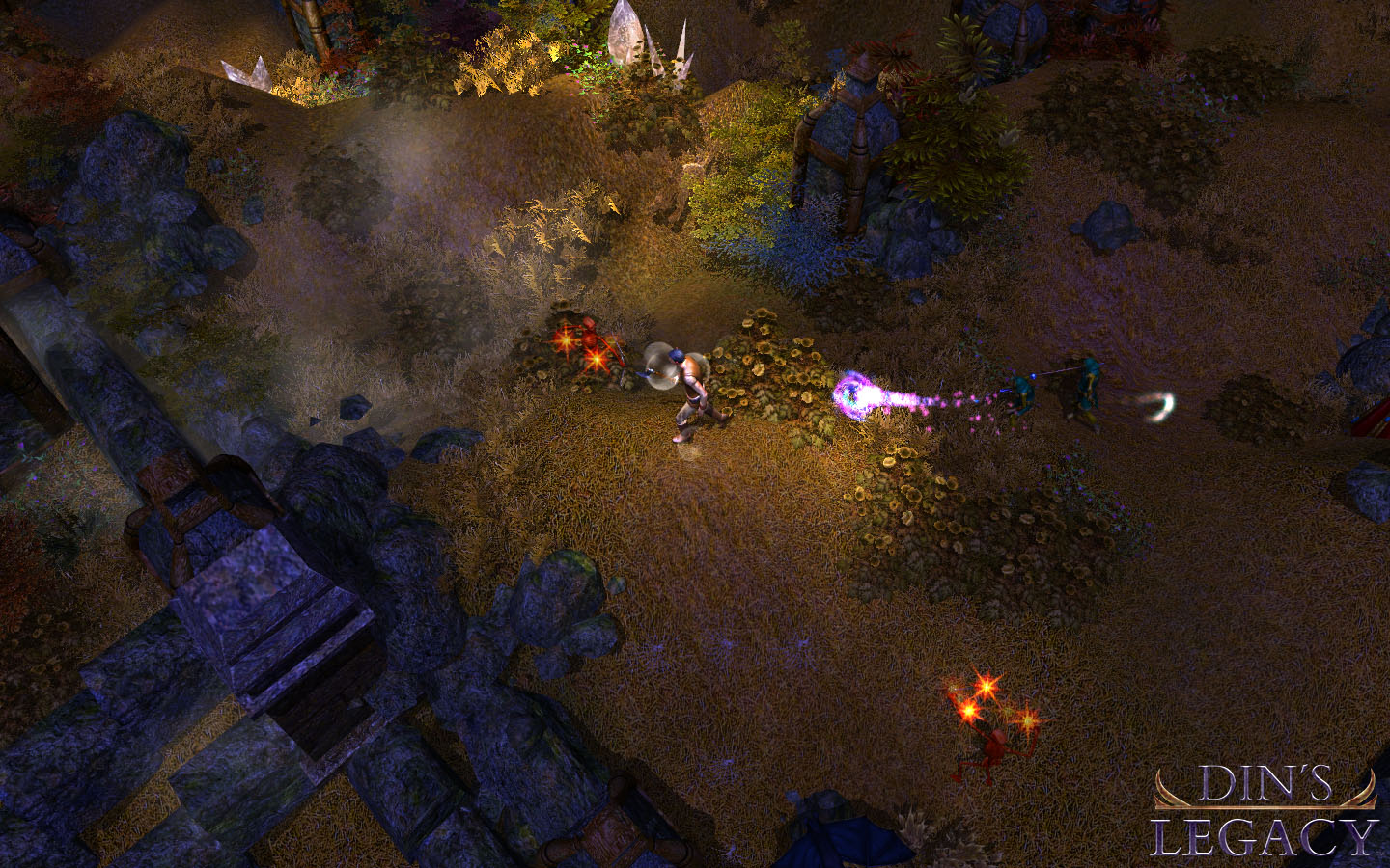 Fantasy RPG Din's Legacy enters Early Access