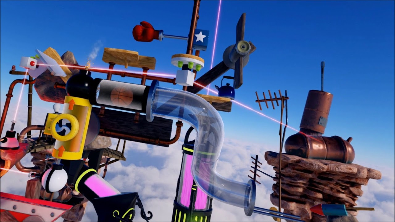 Crazy Machines VR out today on PC