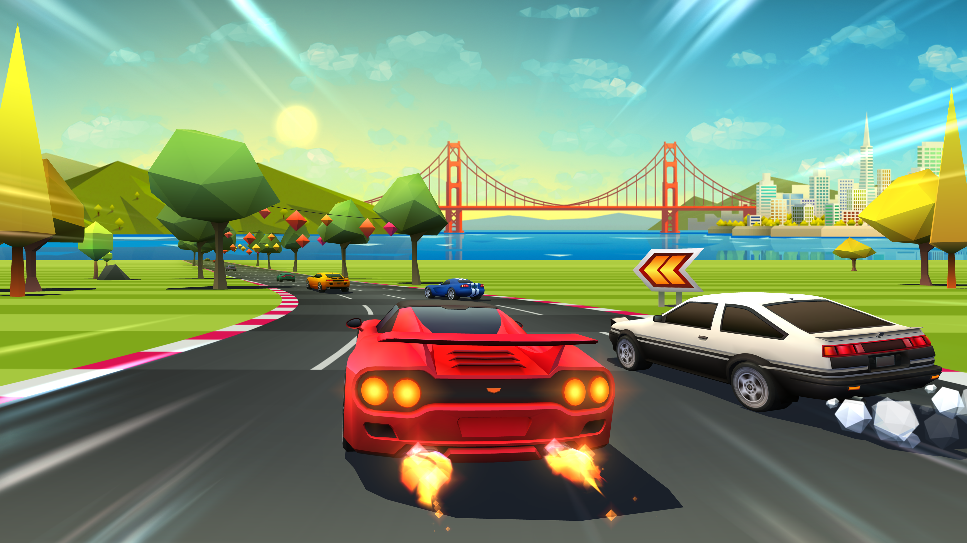 Horizon Chase Turbo gets playable demo on PS4 and Steam