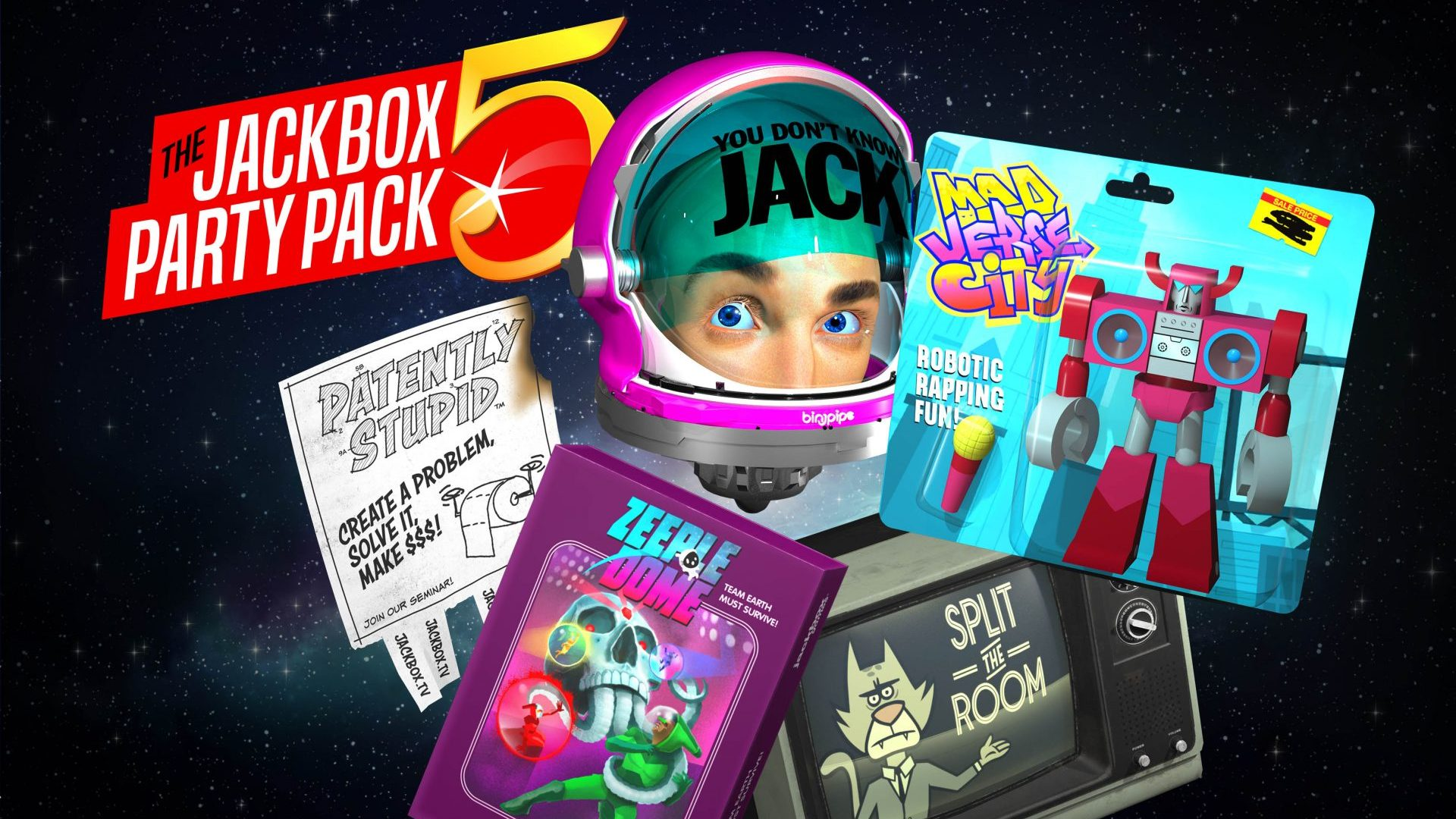 Jackbox Party Pack 5 Games