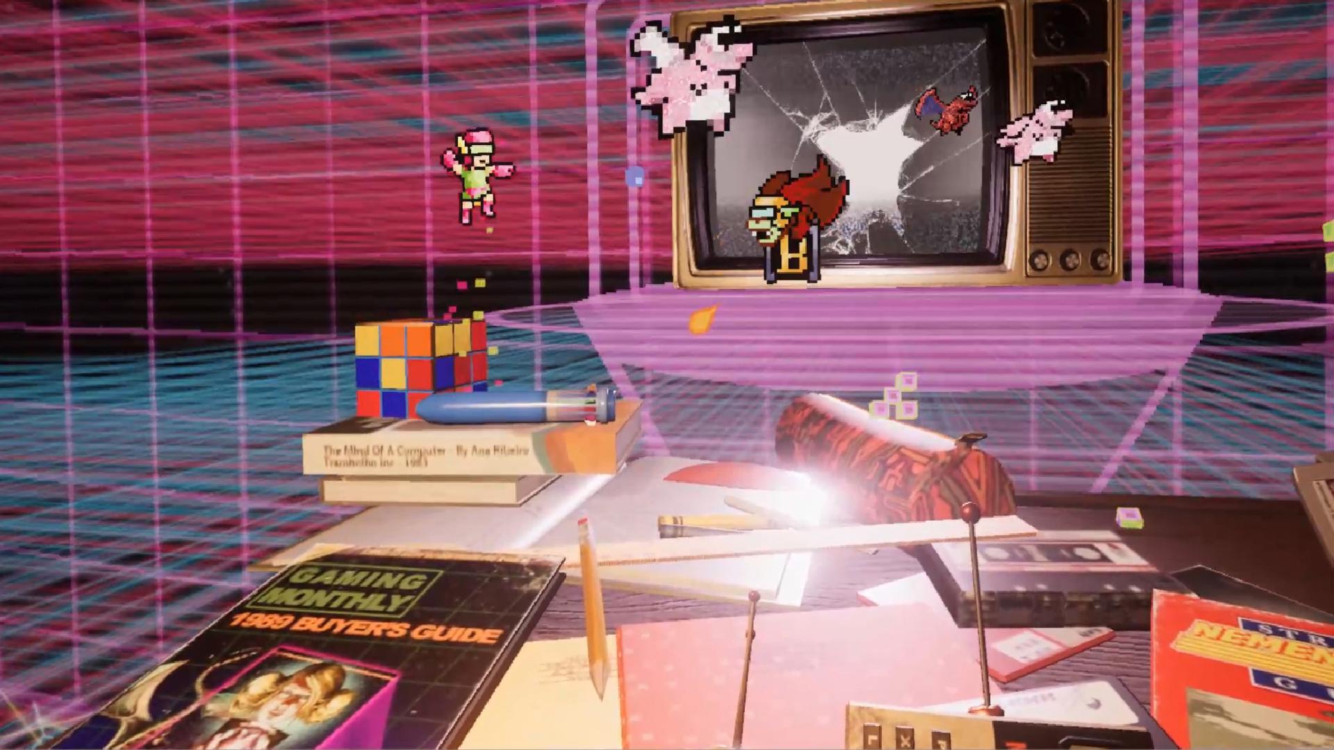 Pixel Ripped 1989 receives Halloween update