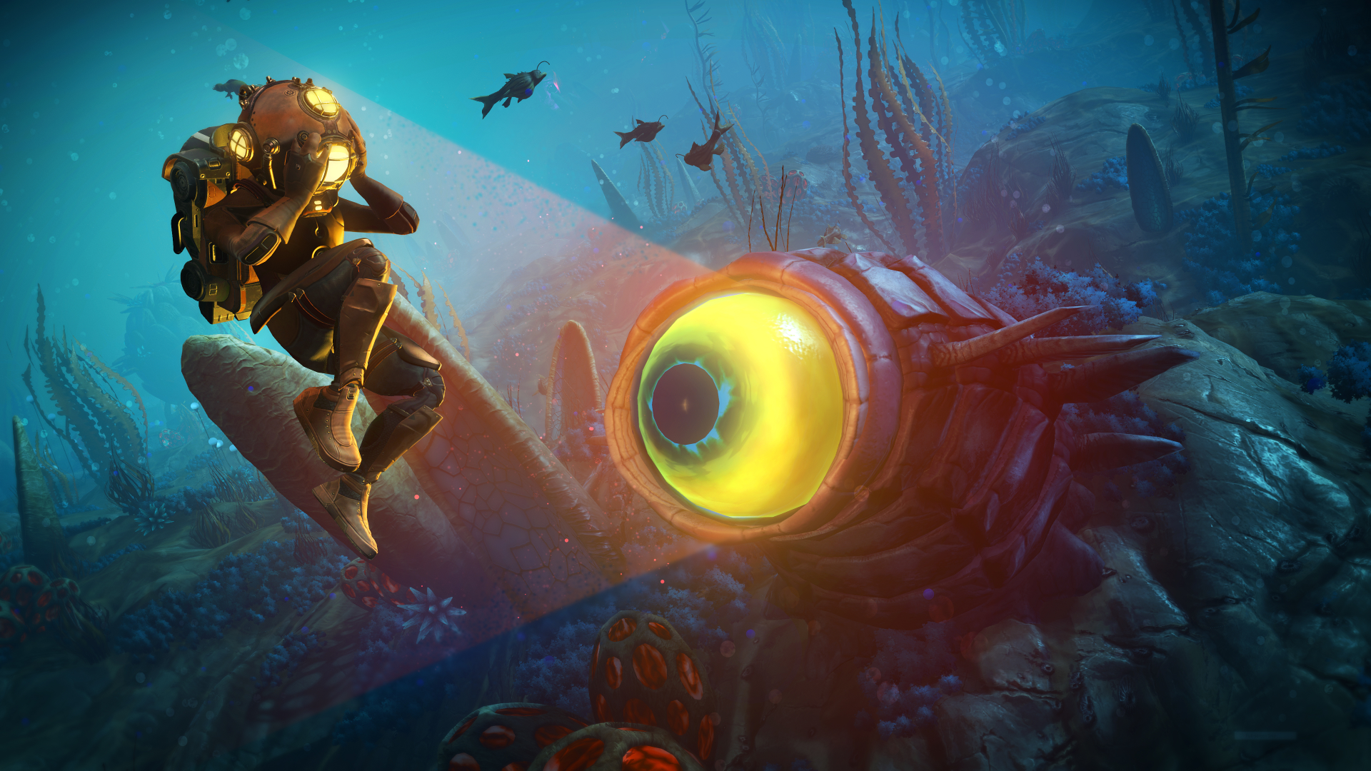No Man's Sky gets aquatic The Abyss update