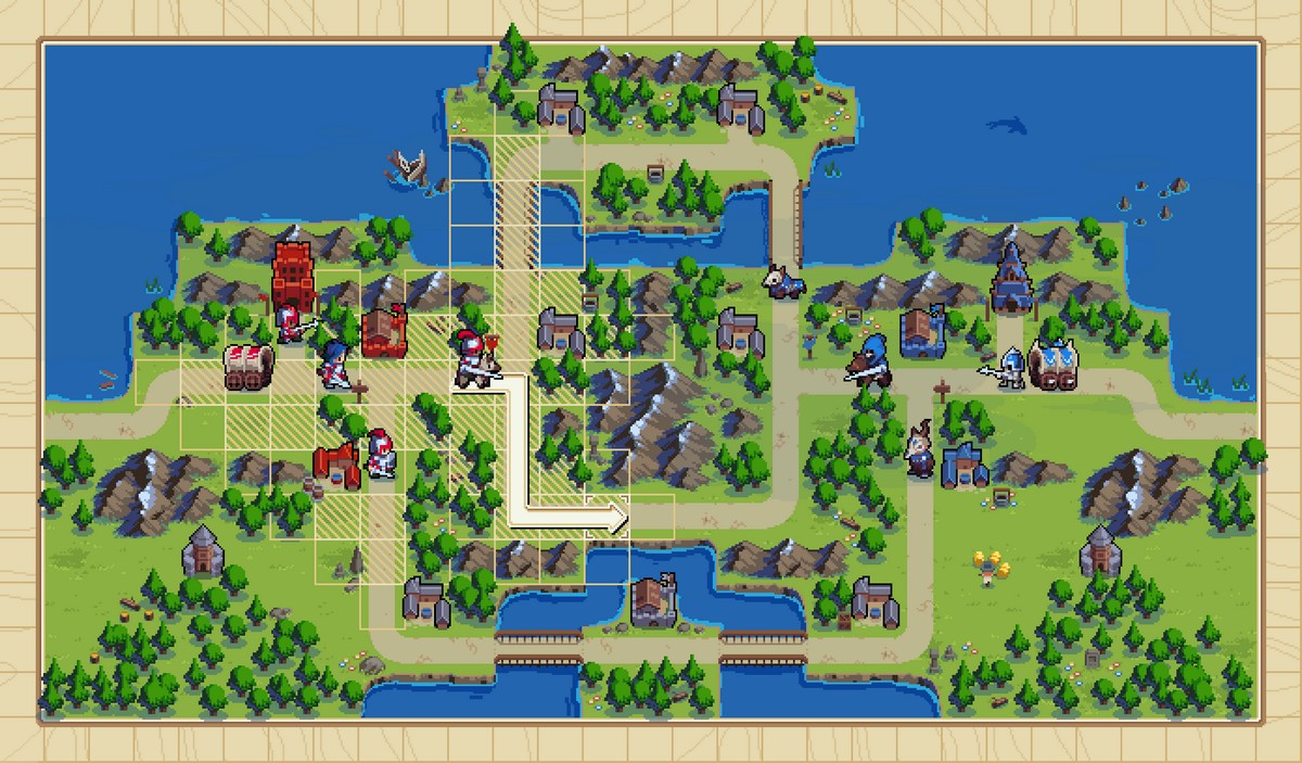 Wargroove preview. Advance Wars made turn-based ...