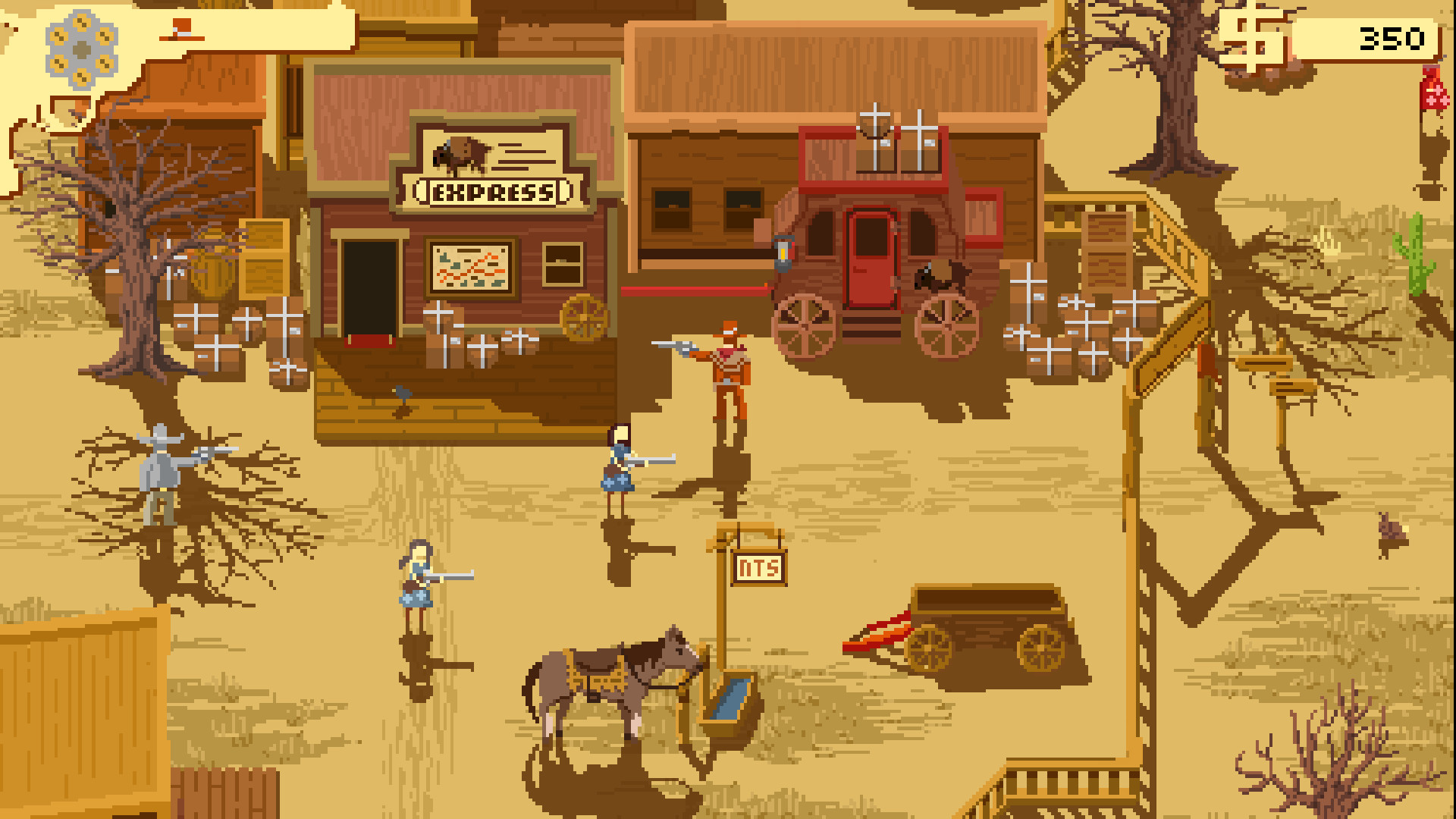7 Of The Best Wild West Themed Indie Games