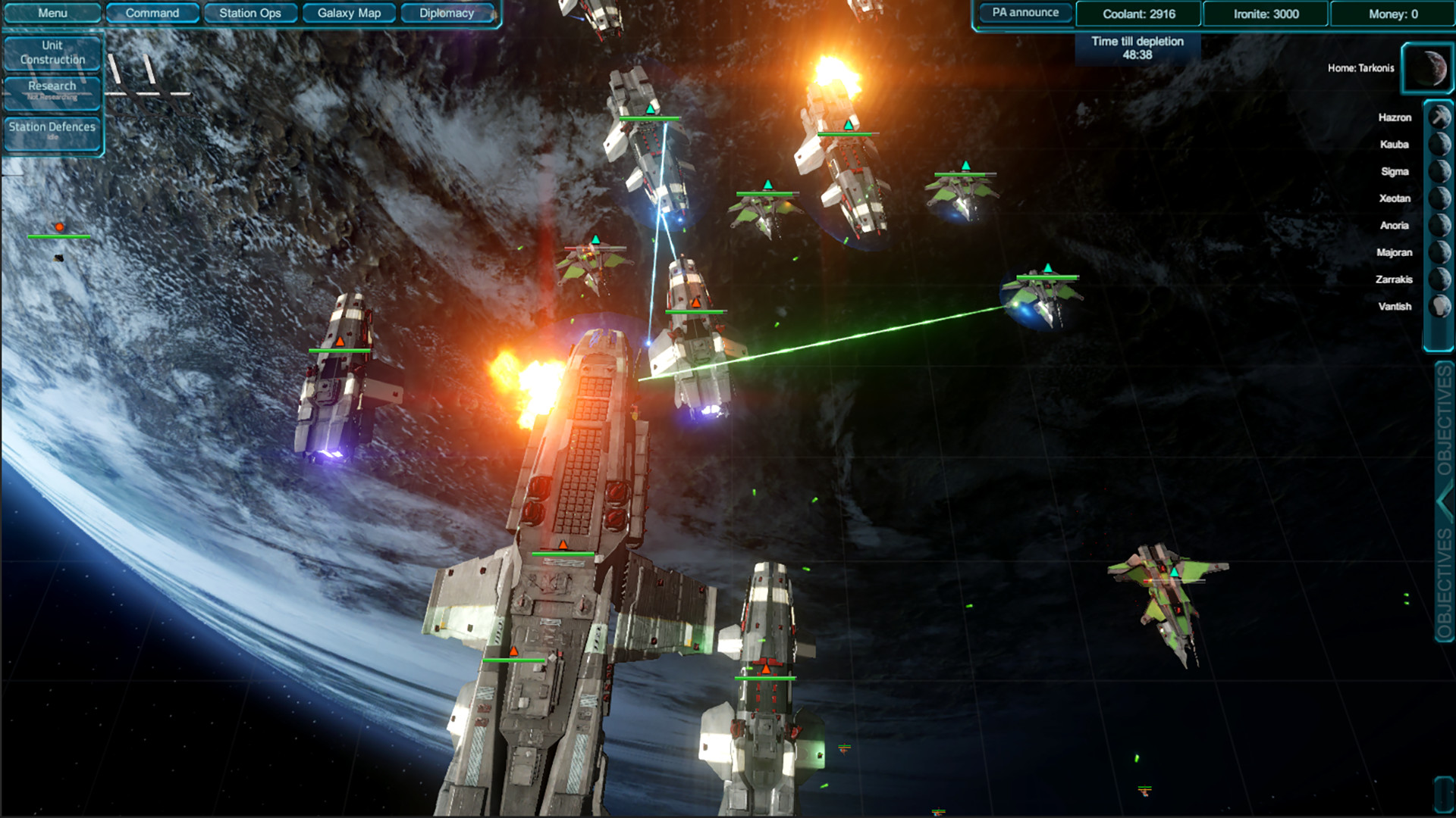 Space RTS/FPS Executive Assault 2 enters Early Access