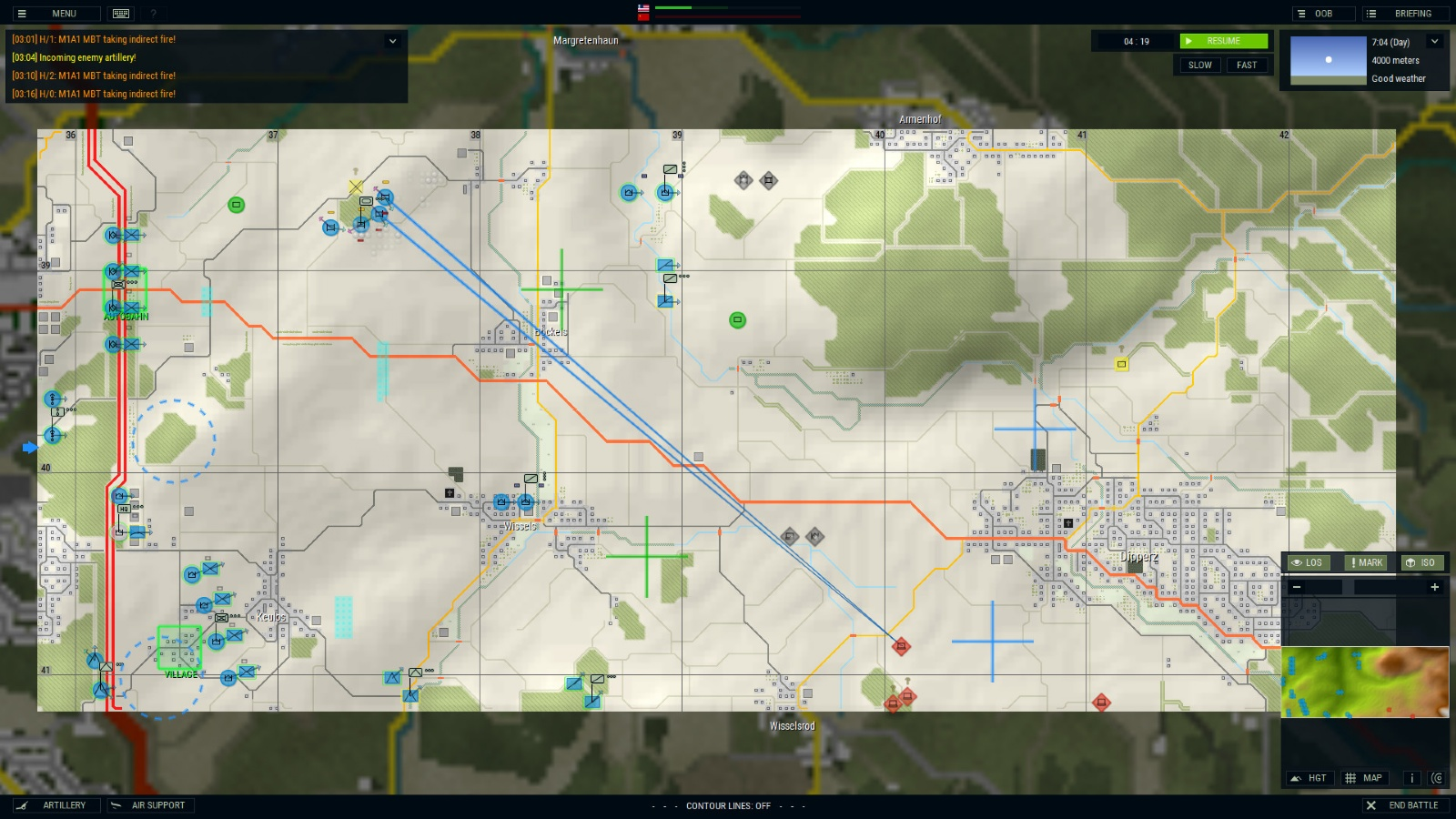 Tactical RTS Armored Brigade released for PC