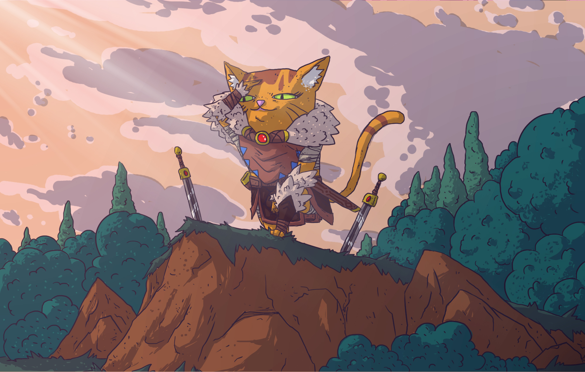 Hunter's Legacy: Purrfect Edition to land on Nintendo Switch