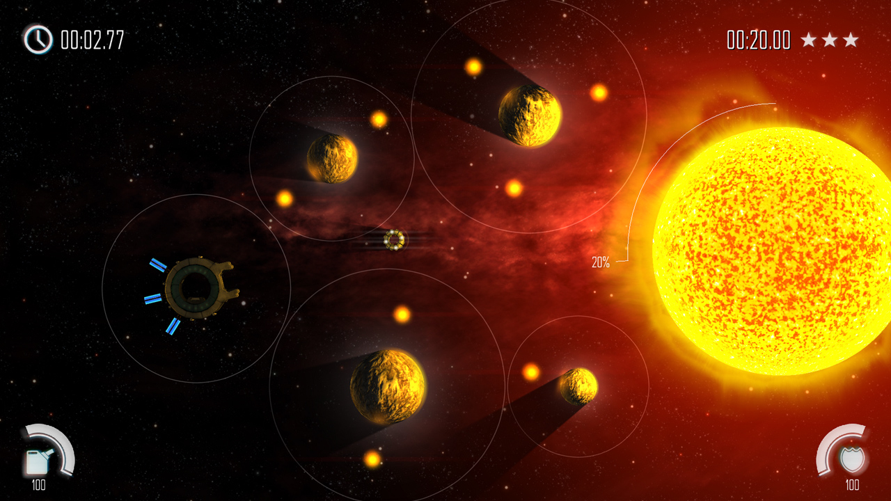 Space puzzler Solar Flux coming to Switch soon