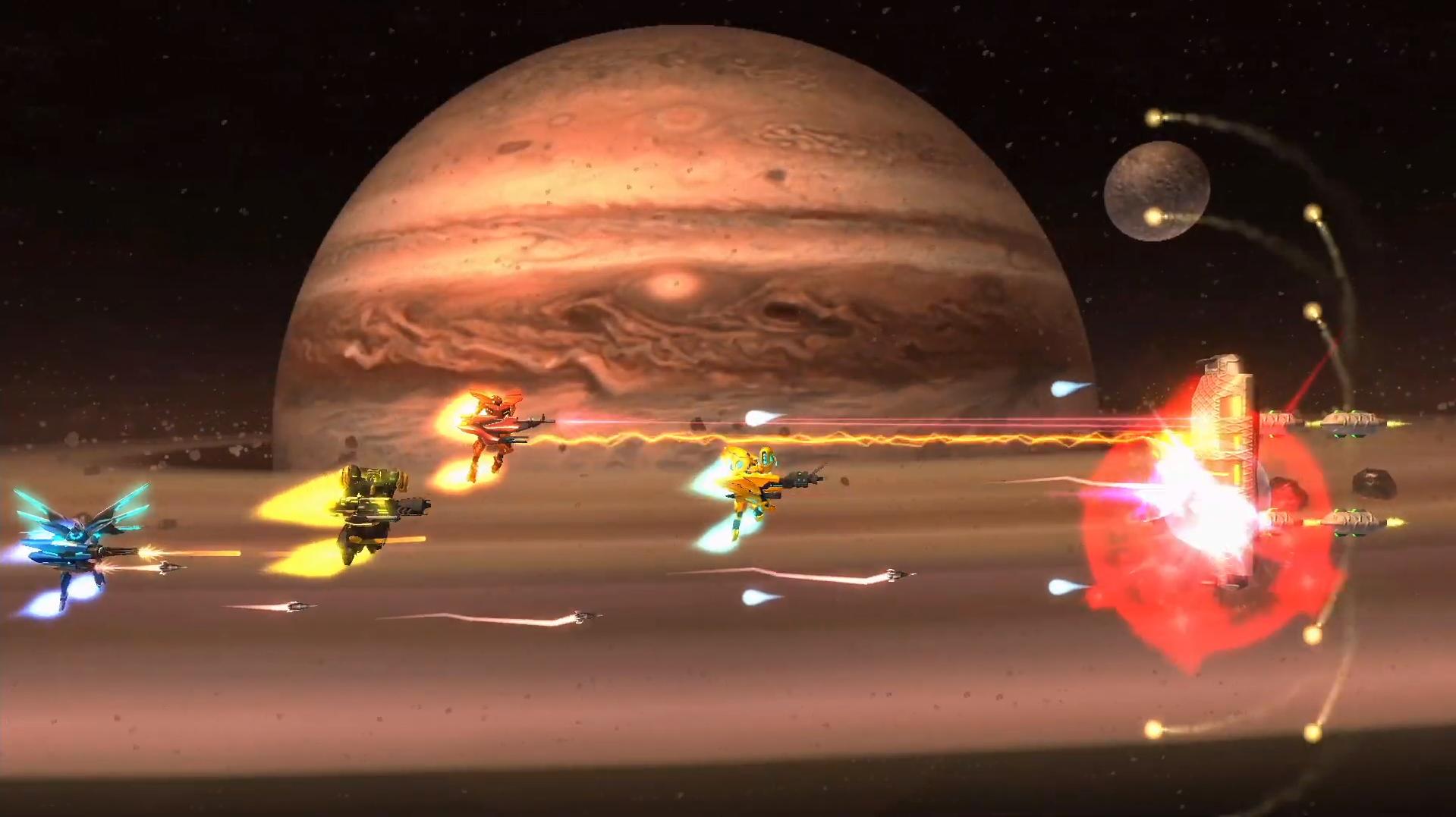 Stardust Galaxy Warriors lands on Switch