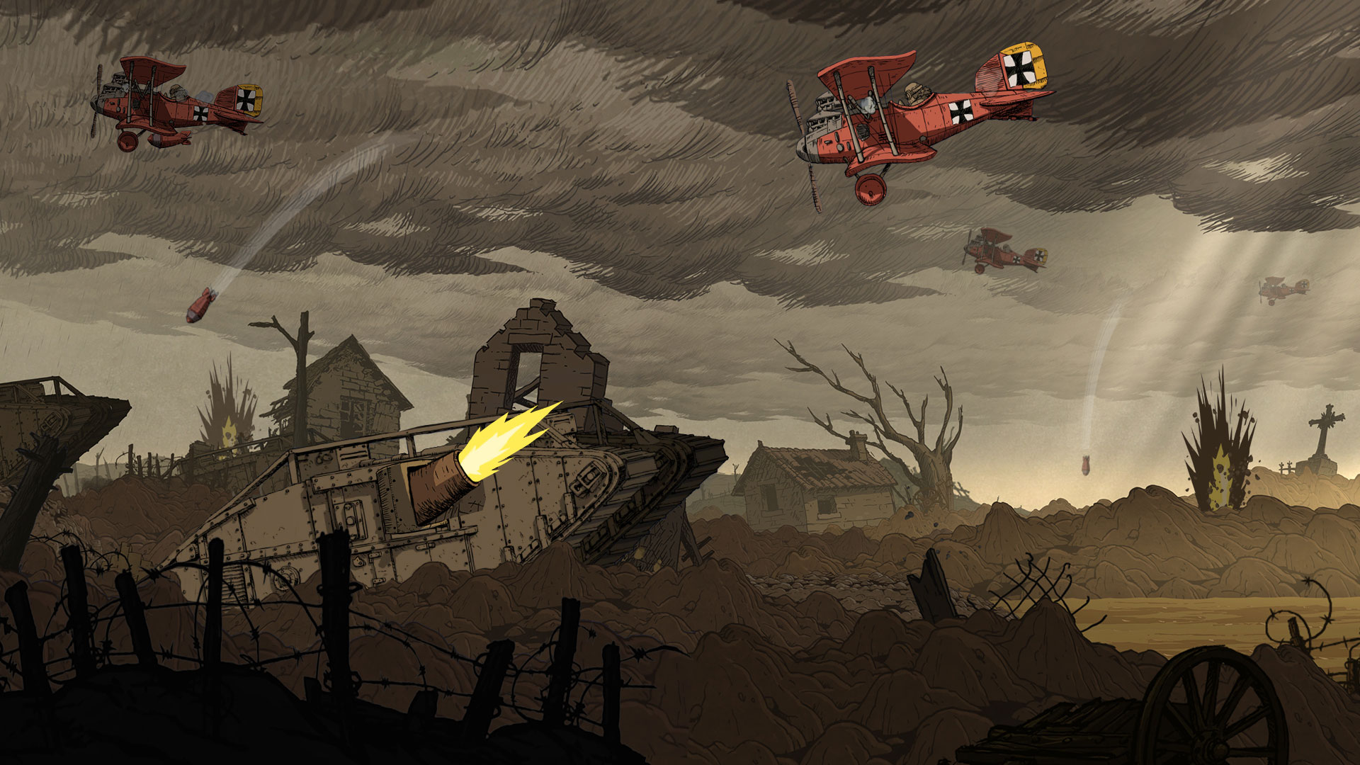 Valiant Hearts: The Great War Switch Review