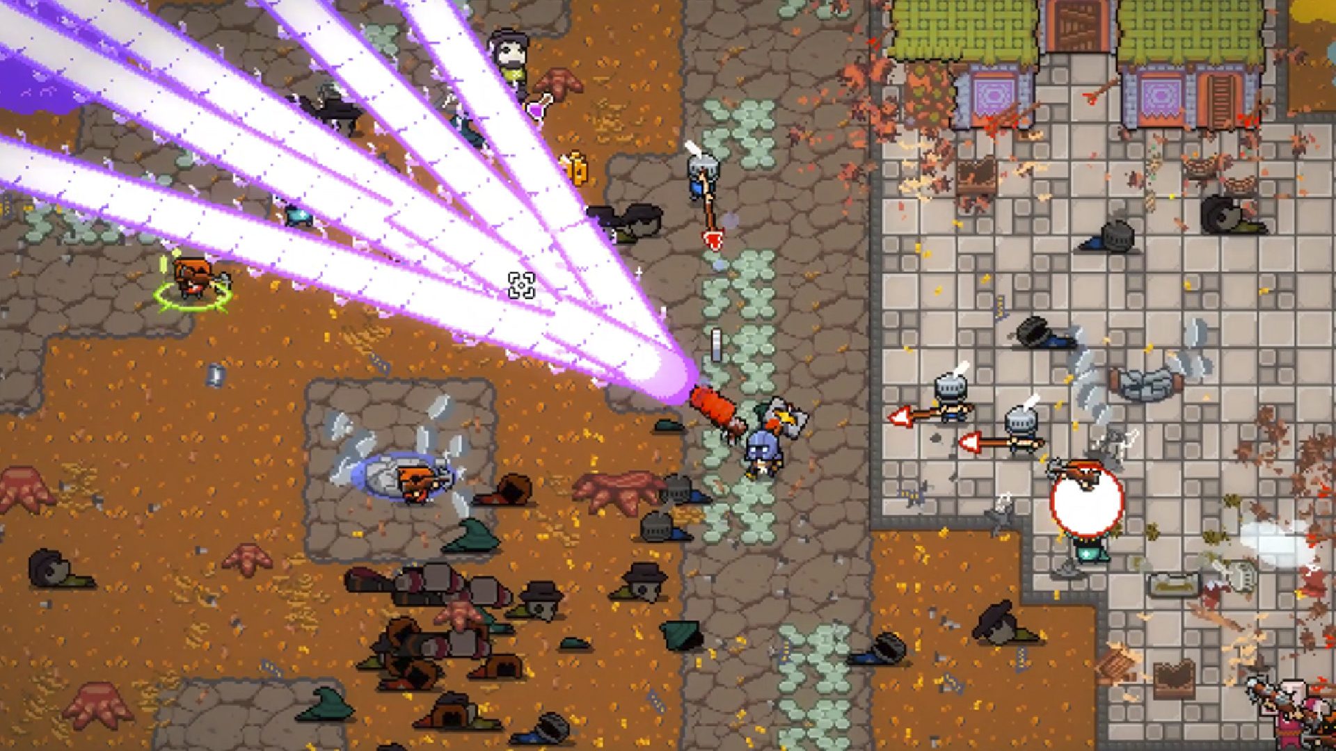 Roguelike shooter Woodpunk out today