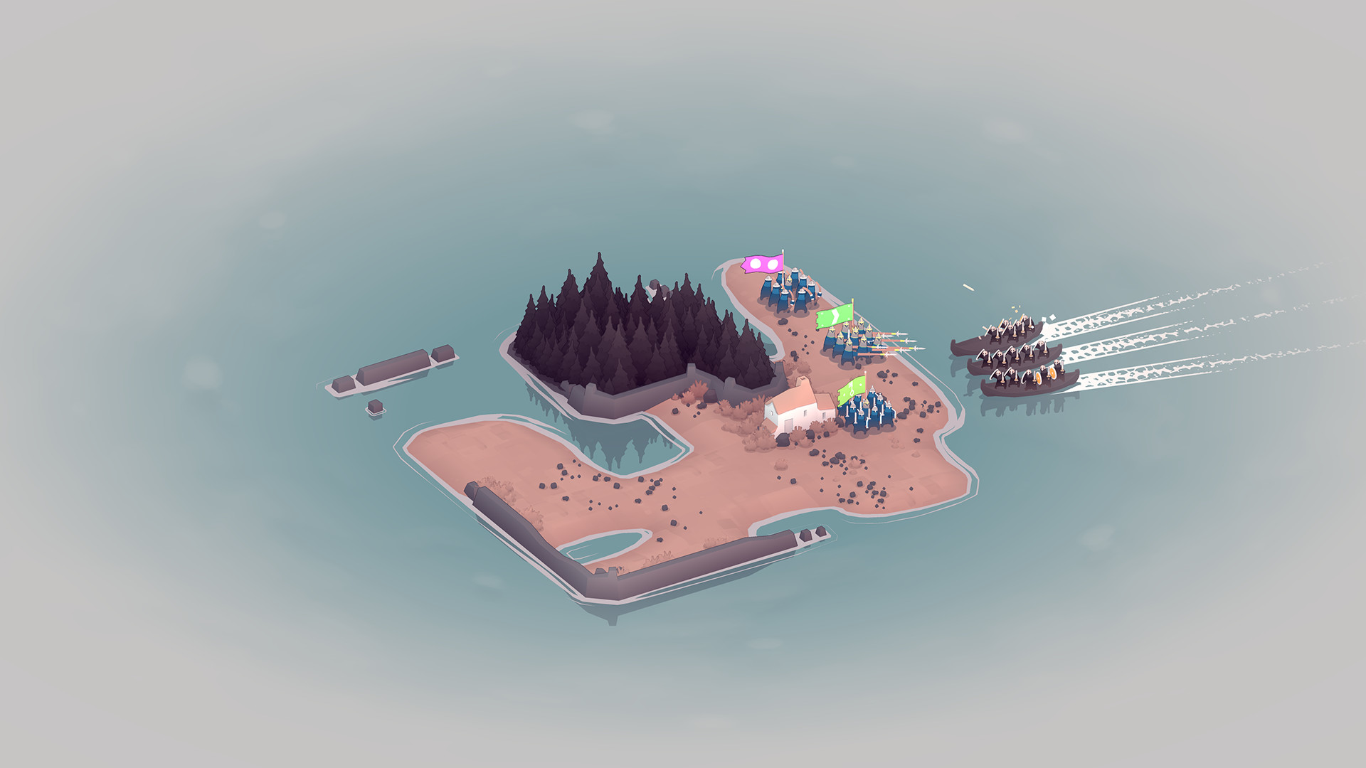 Bad North now available on Steam, GOG and Katridge