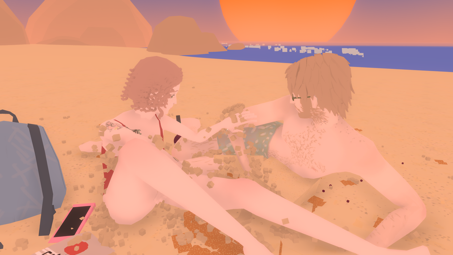 Nina Freeman and Jake Jefferies Discuss Personal Vignette 'Beach Date'