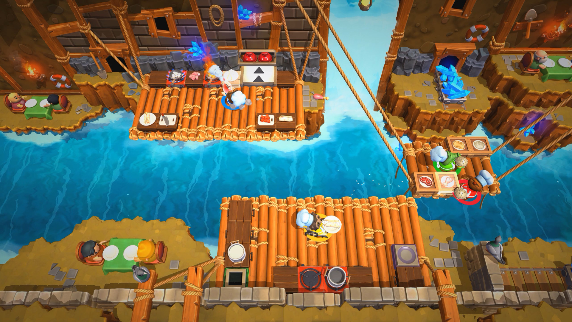 Overcooked 2 Winter DLC goes live