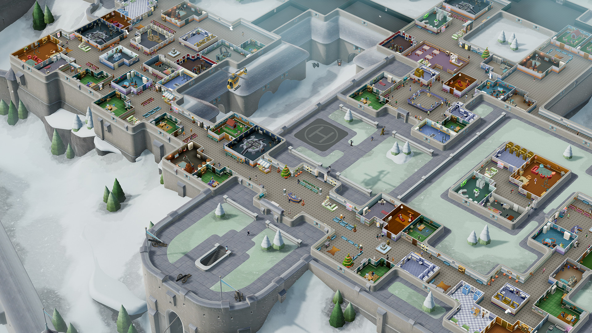 Two Point Hospital DLC Bigfoot out now