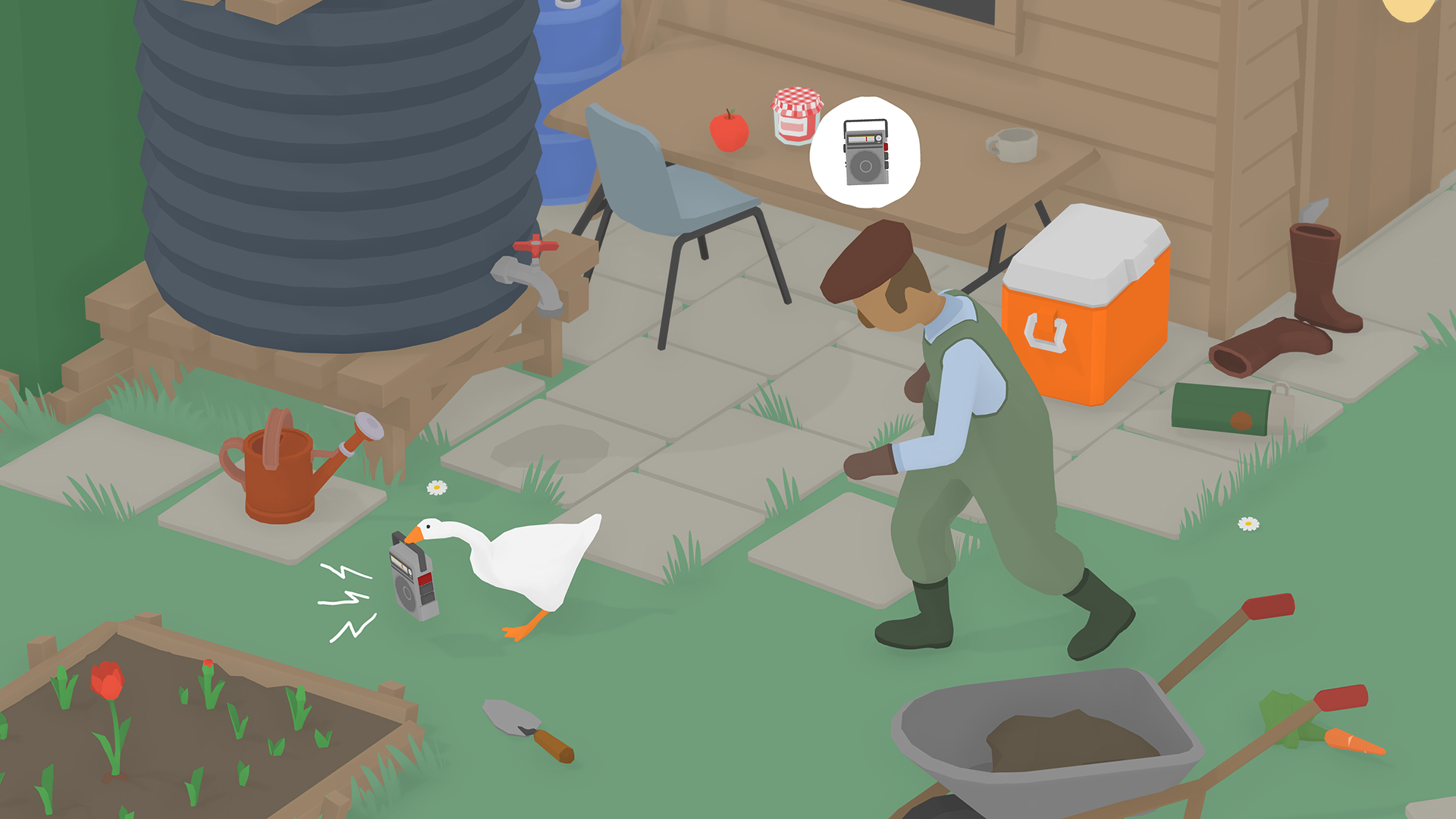 Untitled Goose Game delayed to late 2019