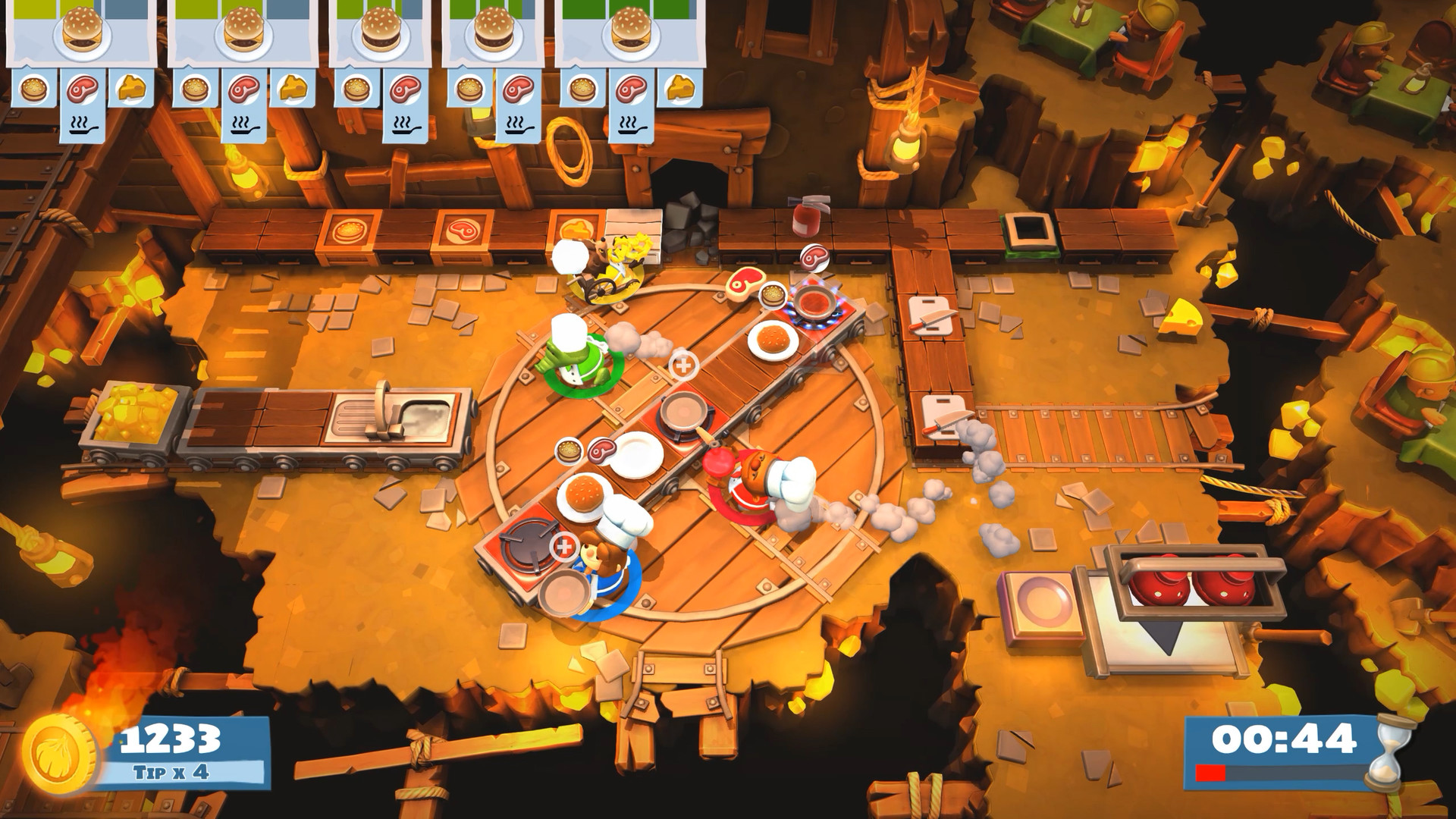 Team17 announces 'free-zing' upcoming content for Overcooked 2