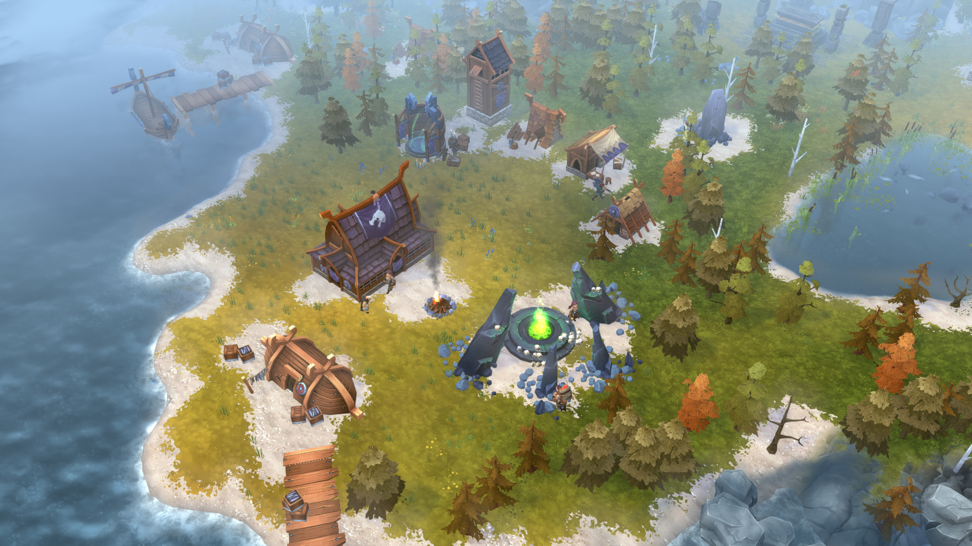 Northgard gets new DLC Nidhogg: The Clan of the Dragon
