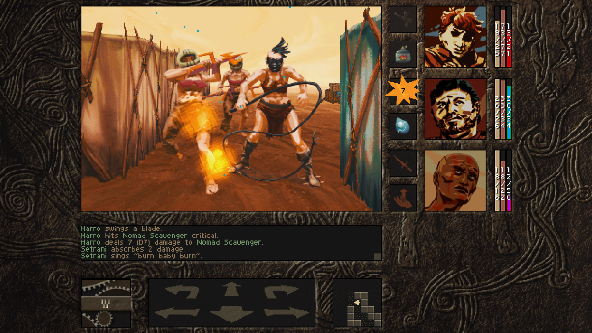 Retro pen and paper RPG Aeon Of Sands released