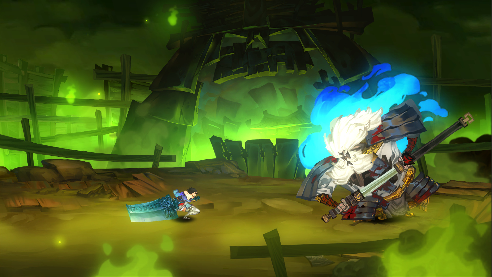 Chinese inspired 2D hack-and-slash Bladed Fury out today