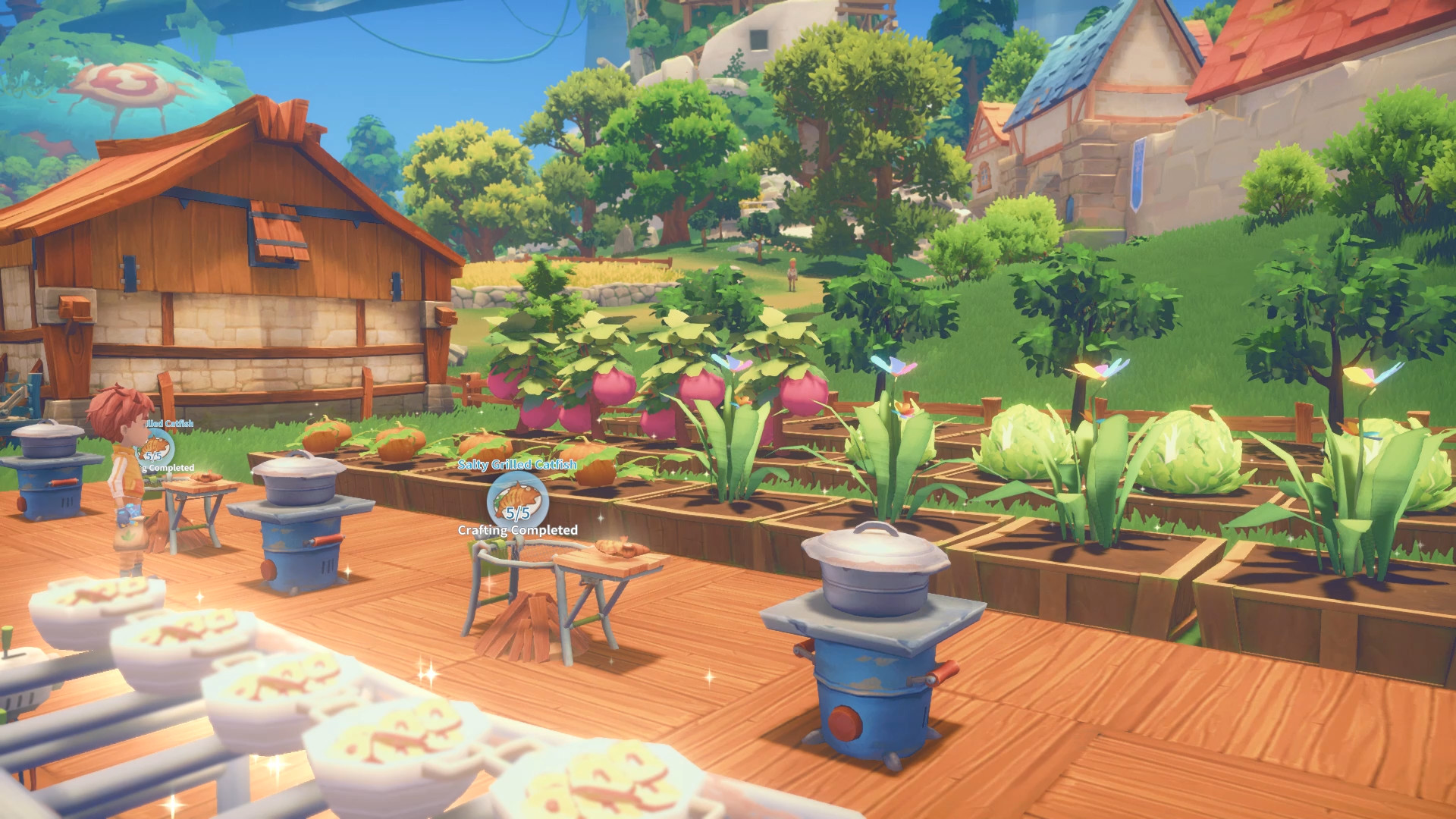 My Time At Portia - Crafting