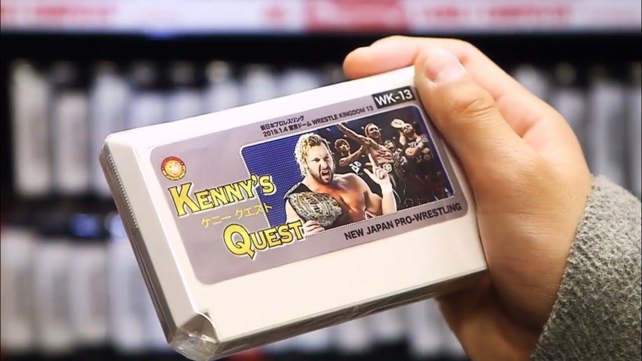 Undertale's team creates wrestling promo for Kenny Omega