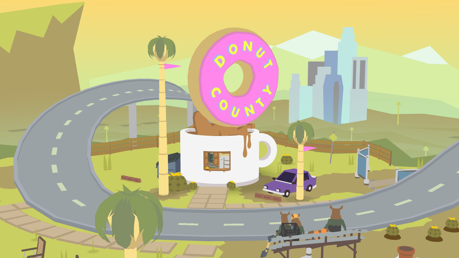 Physical release of Donut County coming your way this year
