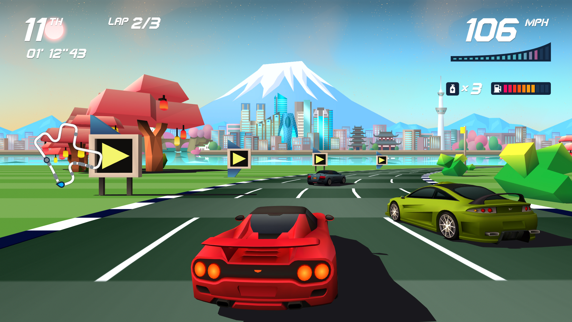 Horizon Chase Turbo gets PS4 update