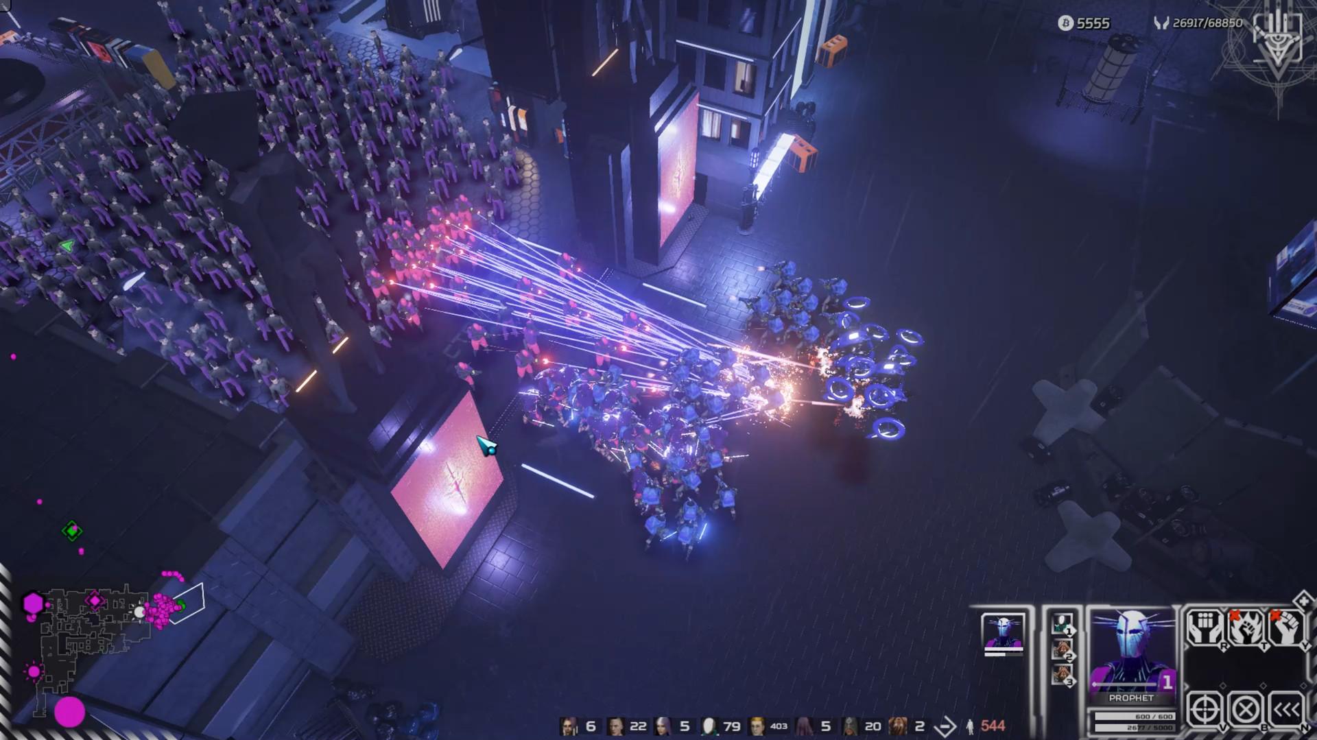 Cyberpunk RTS Re-Legion gets release date