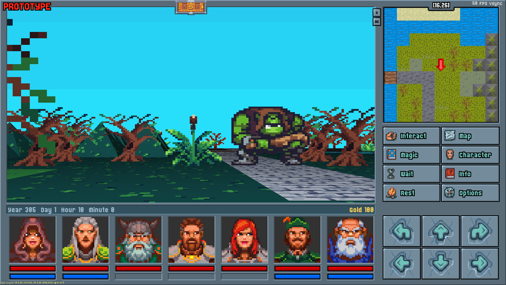 90s inspired RPG Legends Of Amberland near release