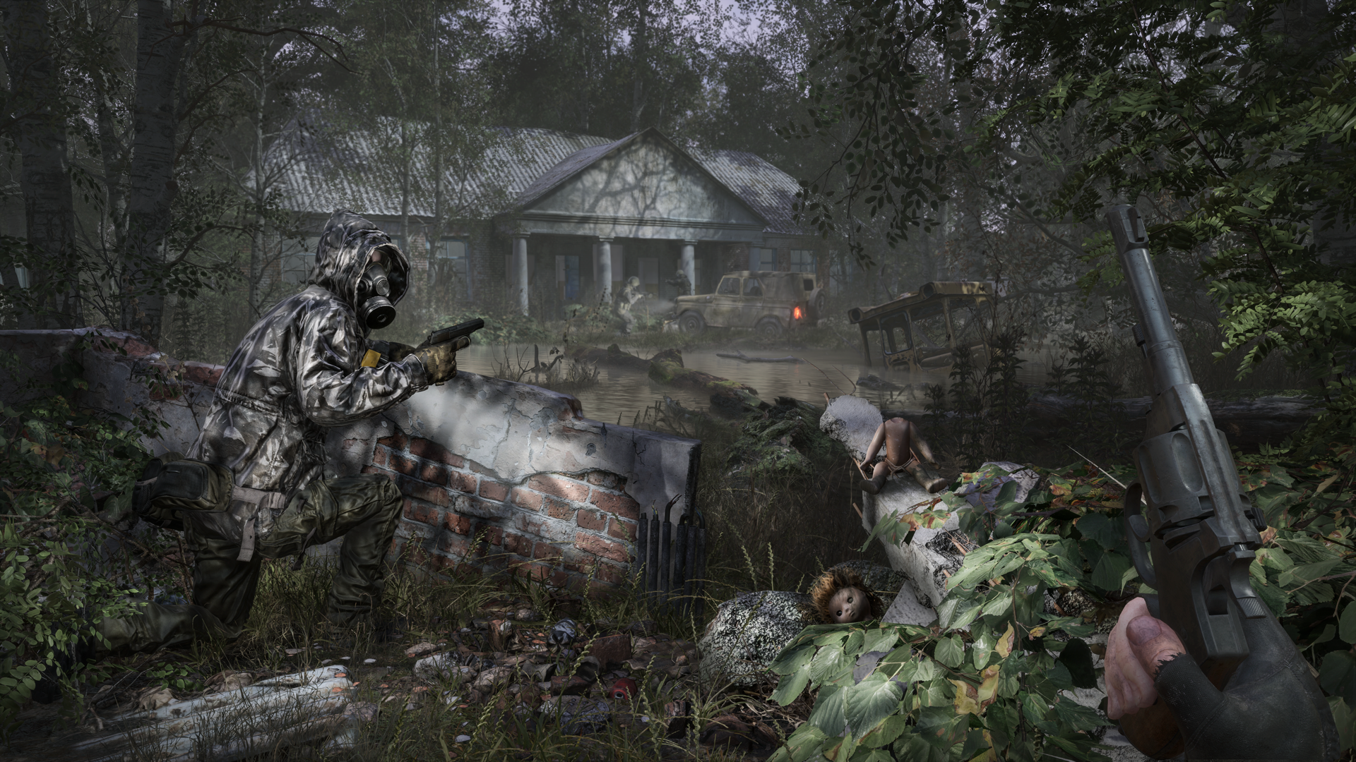 Chernobylite is an irradiated sci-fi horror game