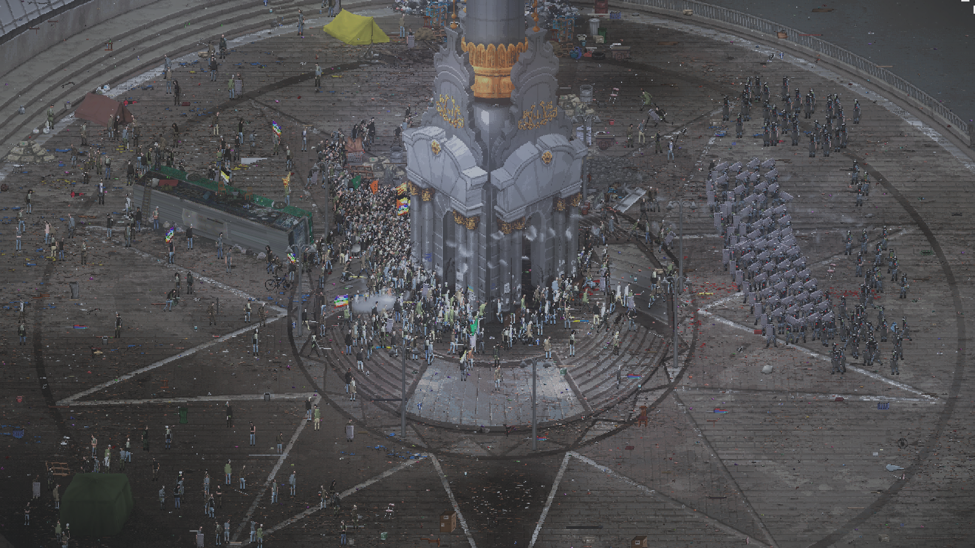 Anarchy reigns as RIOT: Civil Unrest releases this week