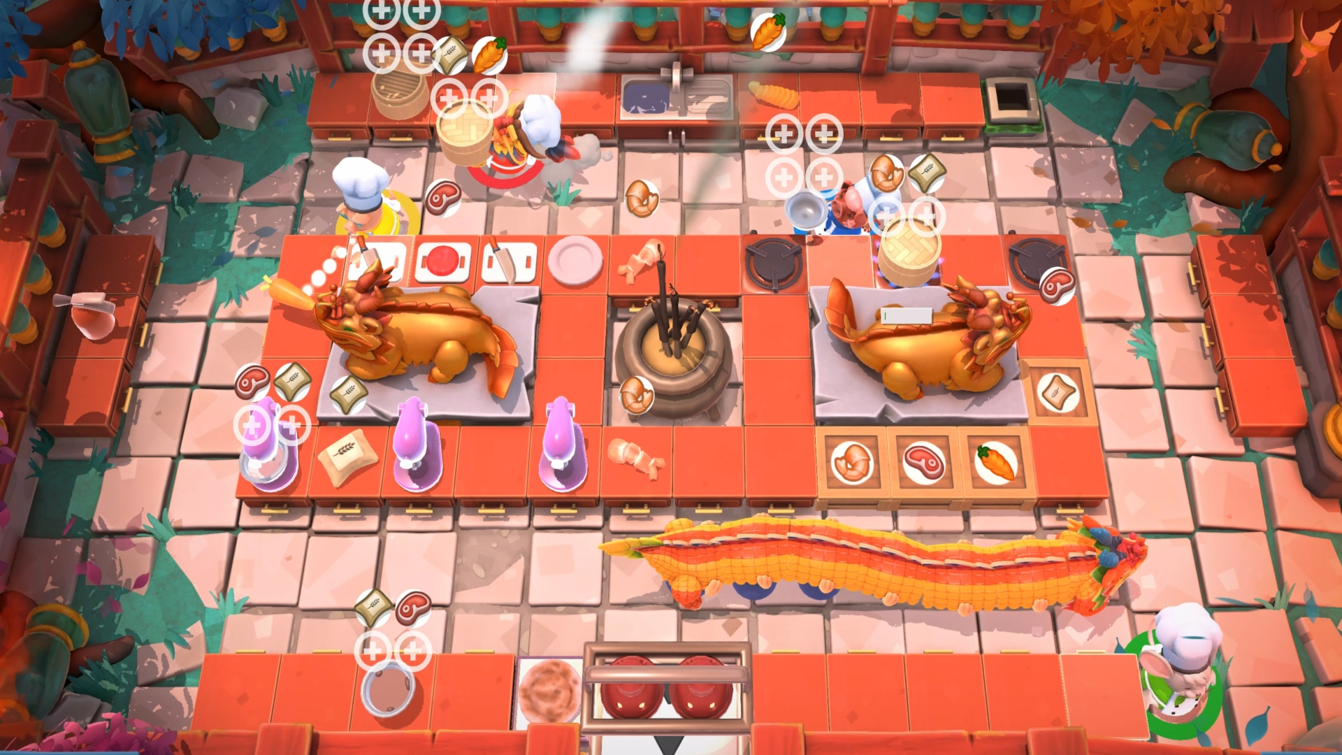 Celebrating the Chinese New Year with Overcooked 2
