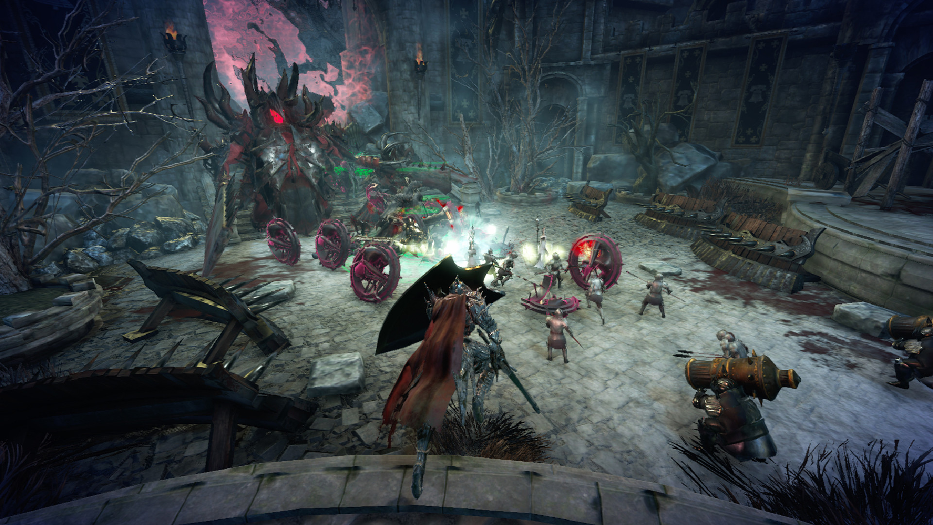 Co-op hoard defense Hell Warders out today
