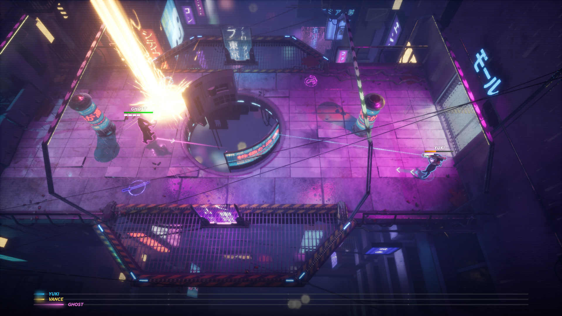 Hyper Jam out now for PC, PS4 & Xbox One